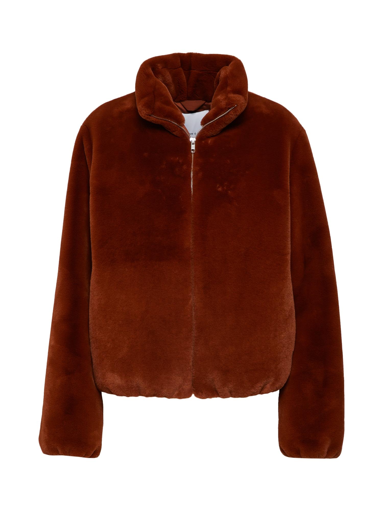 Zimní bunda Loulou jacket 11107 hnědá žlutá Samsoe & Samsoe