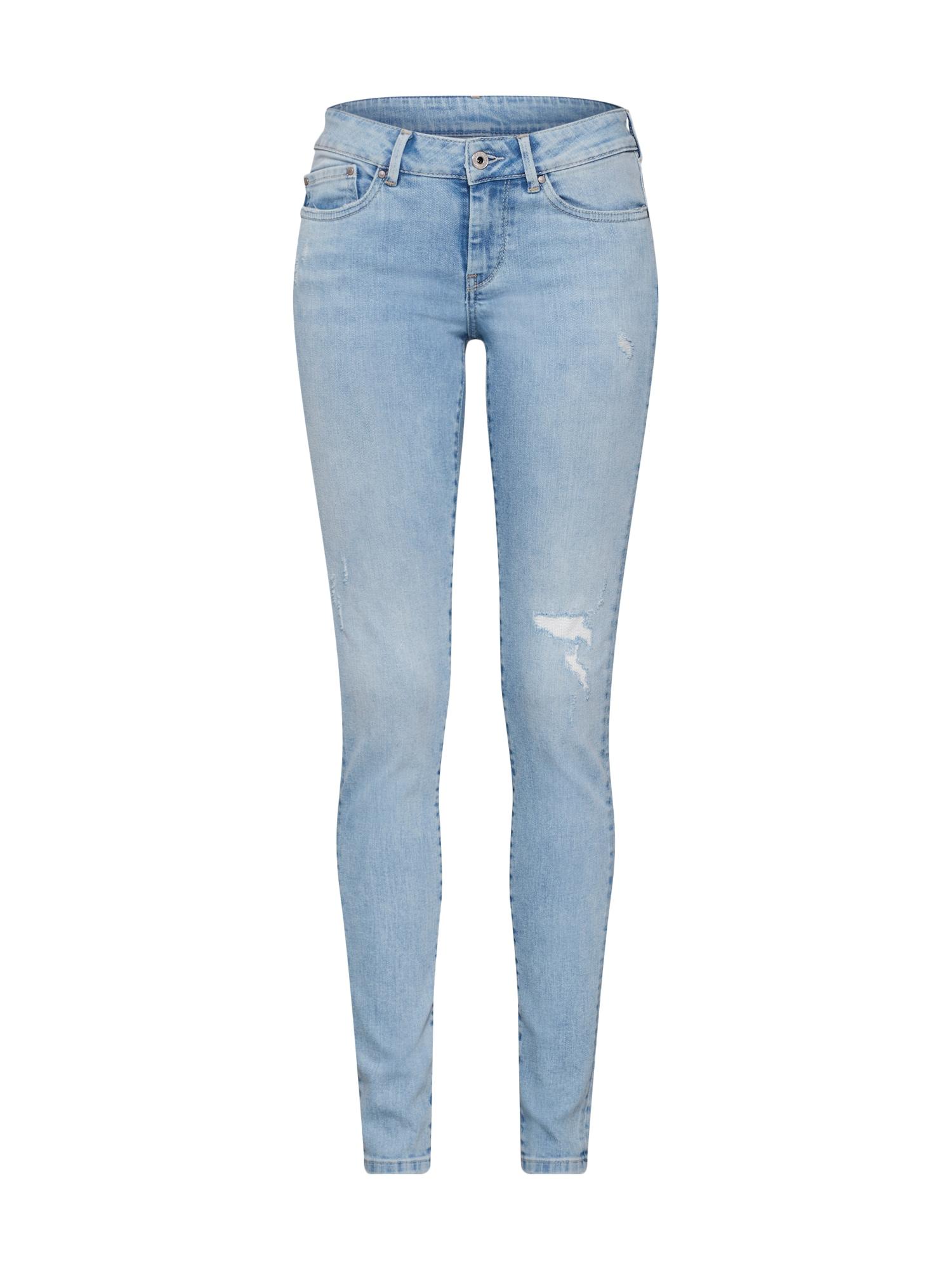 Džíny Pixie světlemodrá Pepe Jeans