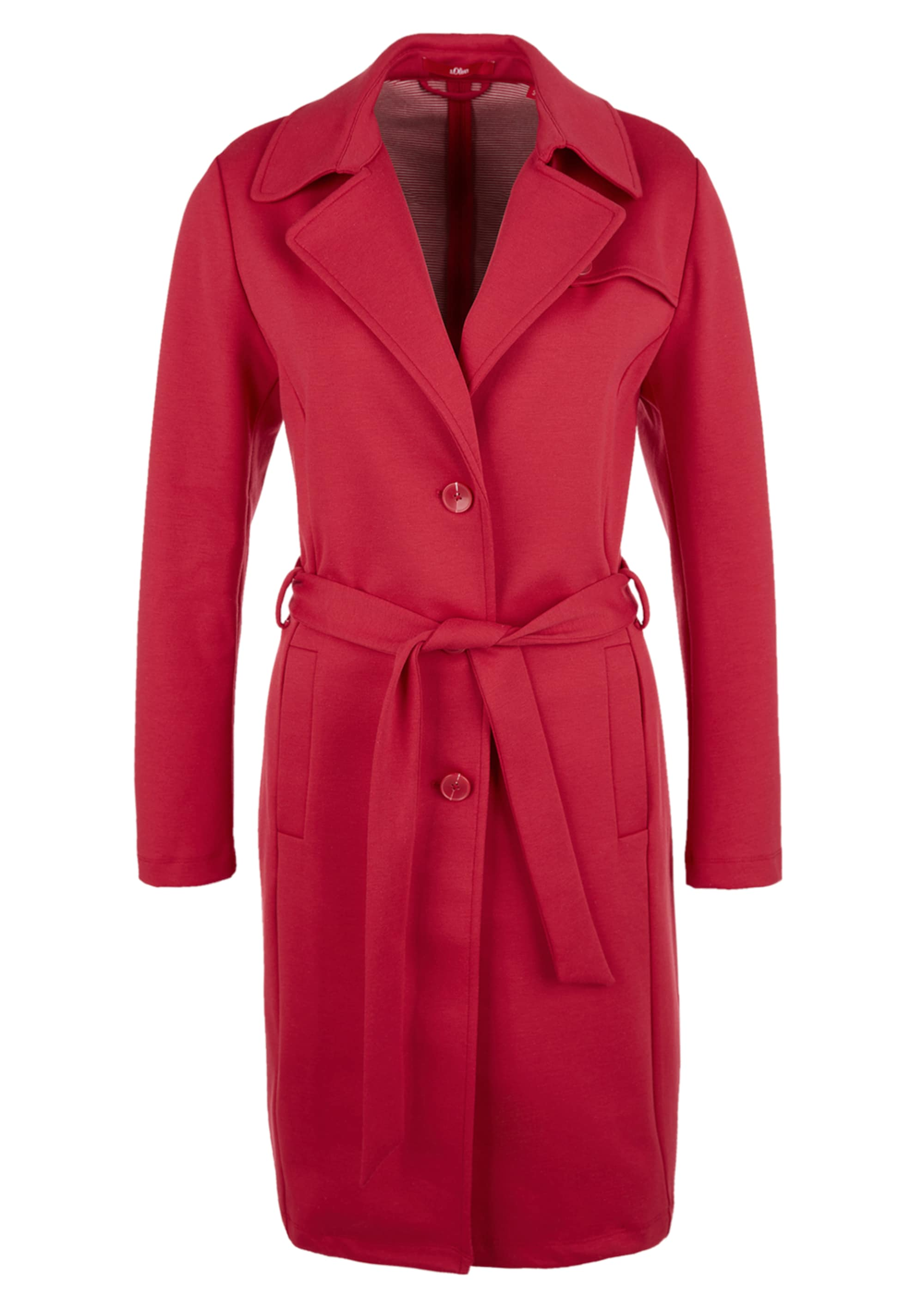 s.oliver red label - Double-Face-Mantel im Trenchcoat-Look