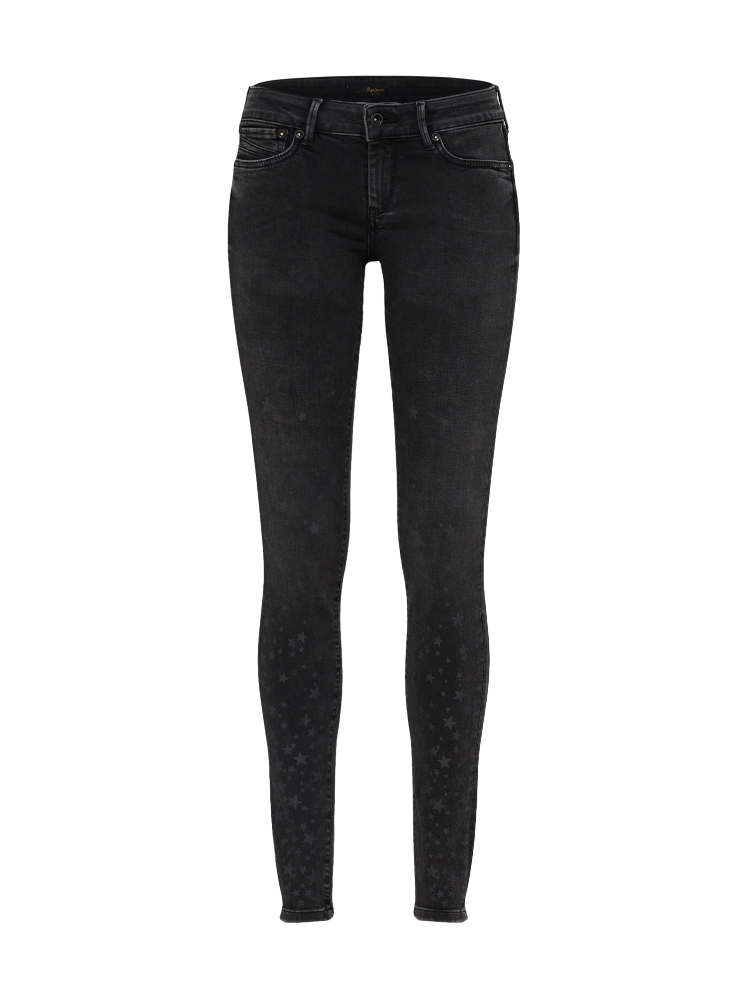 Džíny PIXIE STARS černá džínovina Pepe Jeans