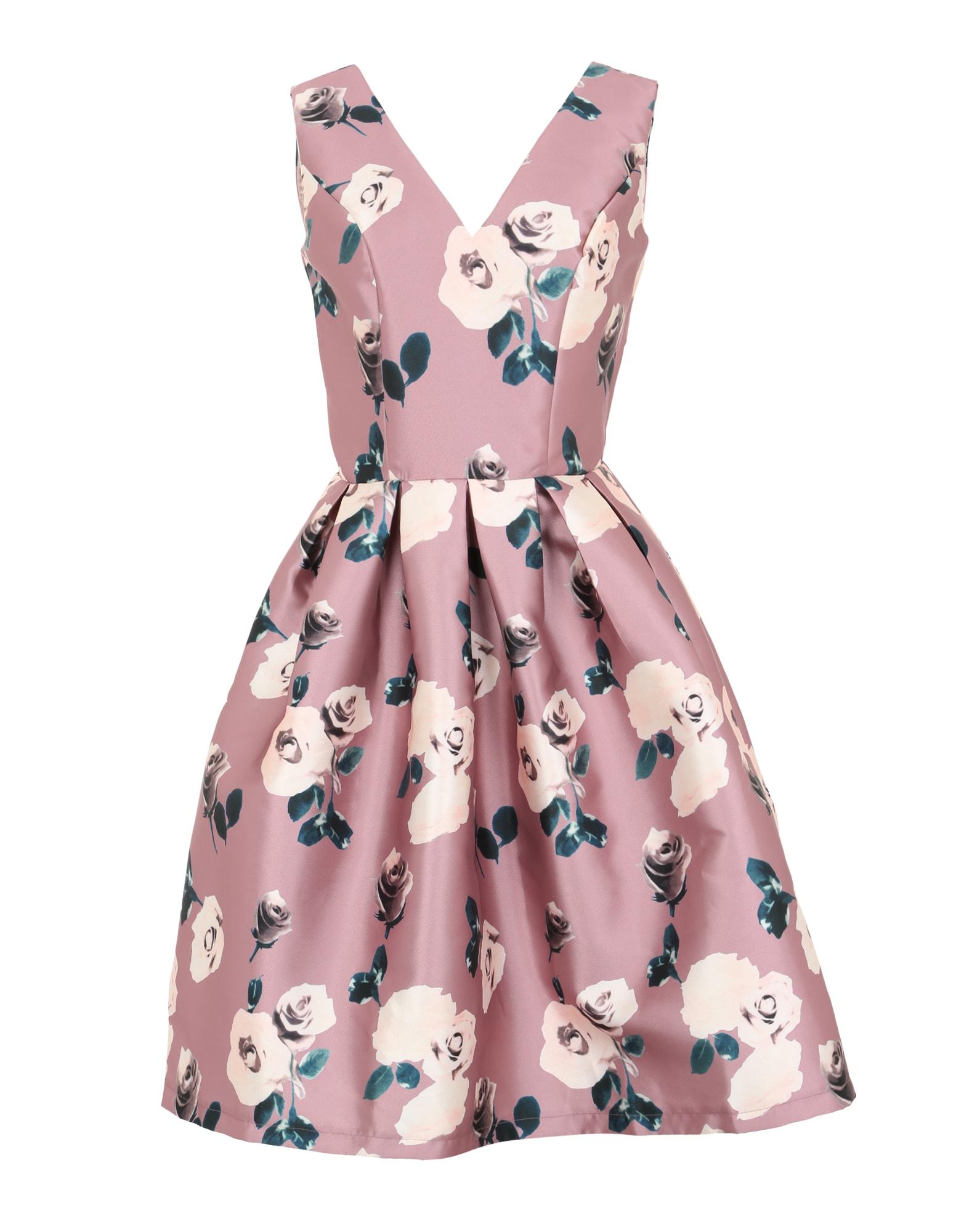 Koktejlové šaty Winnie pink Chi Chi London