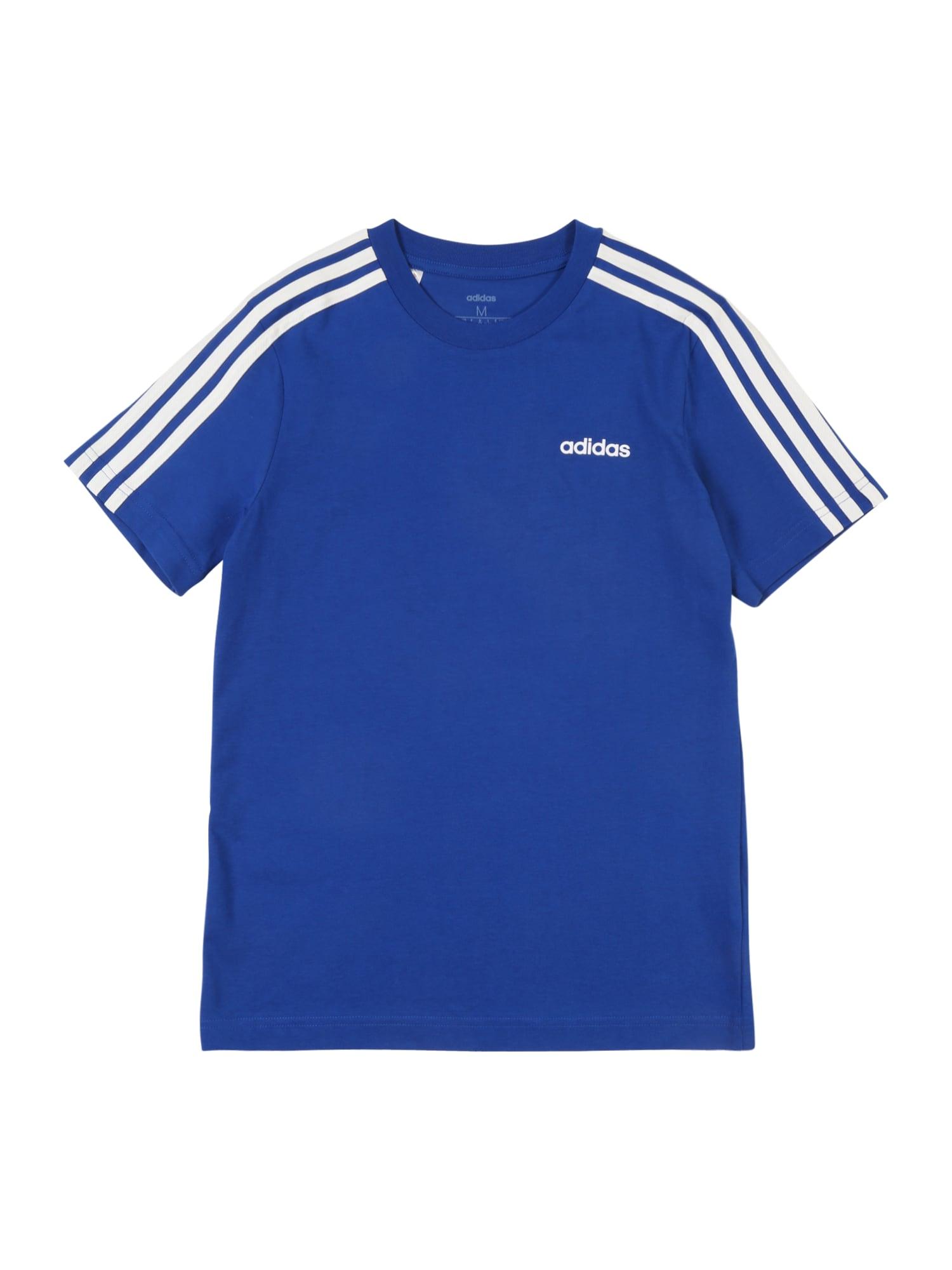 Funkční tričko YB E 3S modrá ADIDAS PERFORMANCE