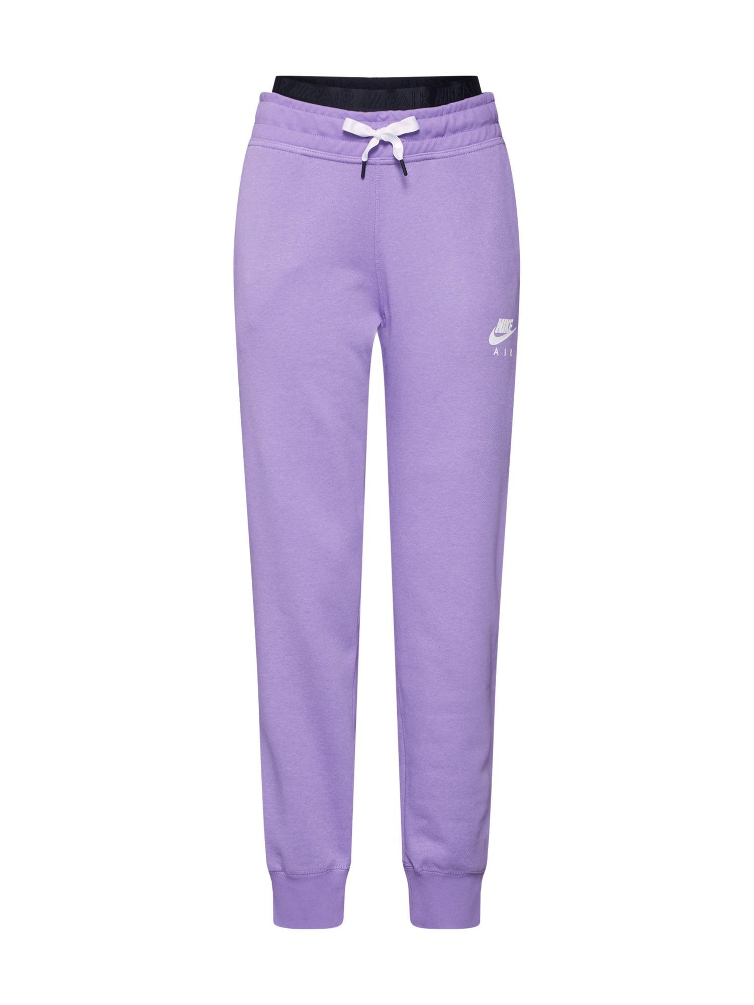Kalhoty fialová Nike Sportswear