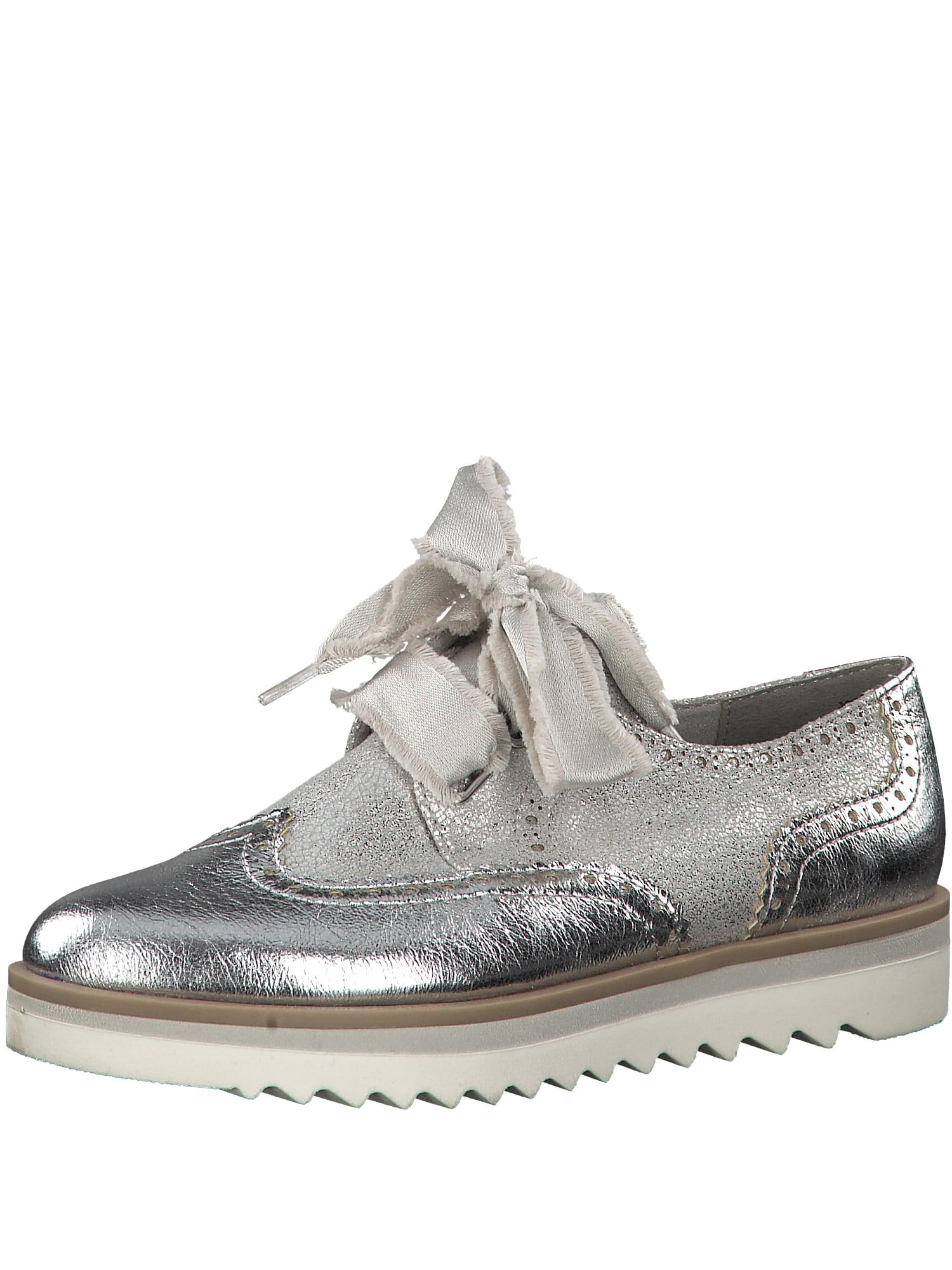 Šněrovací boty stříbrná MARCO TOZZI