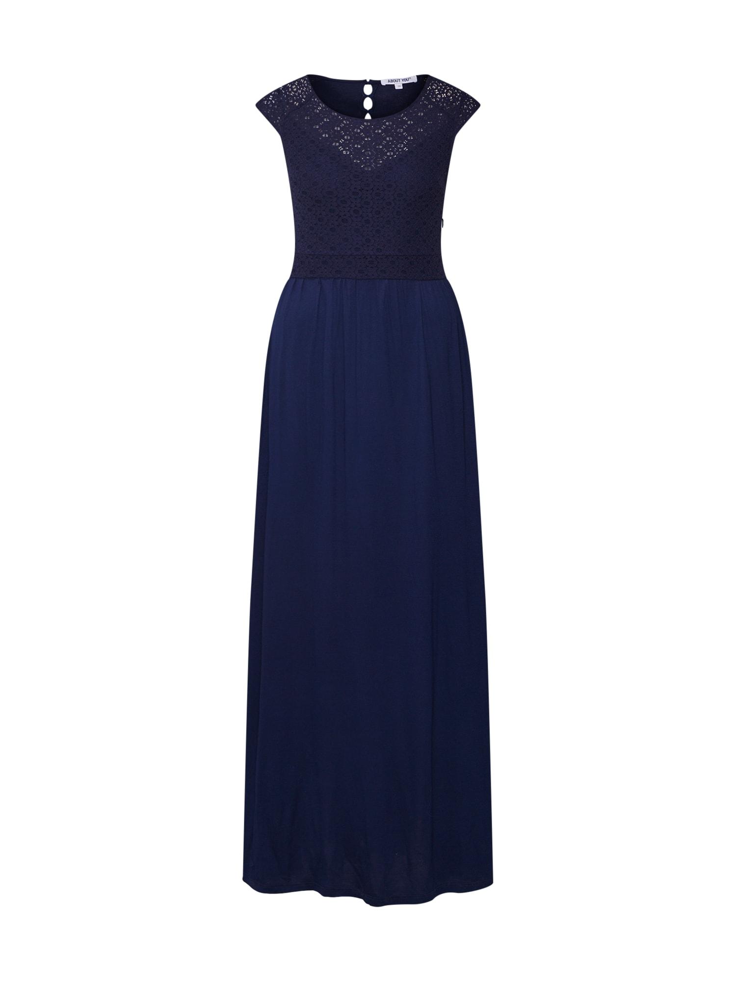 Společenské šaty Nadia tmavě modrá ABOUT YOU