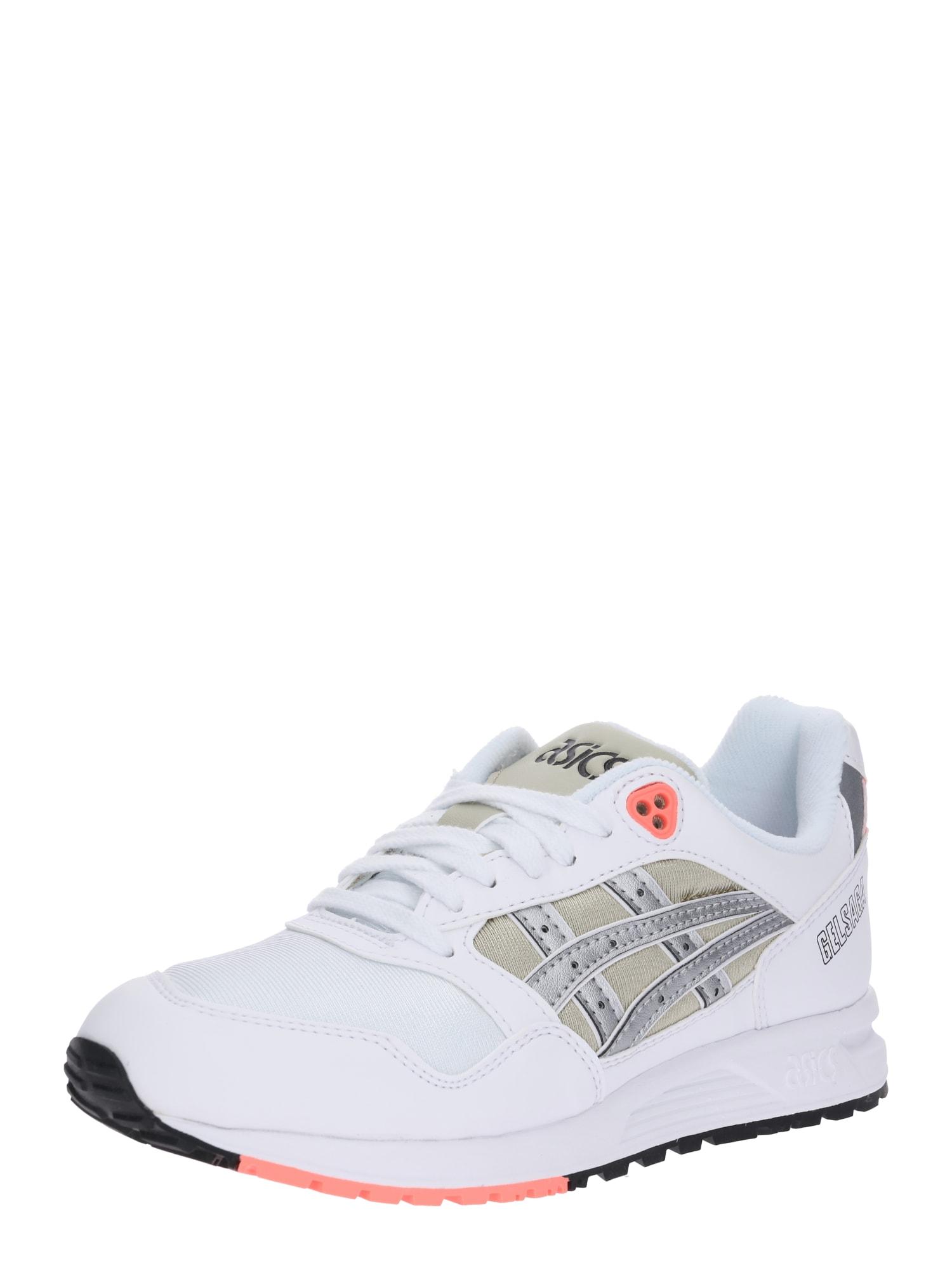 Tenisky GELSAGA khaki stříbrná bílá Asics Tiger