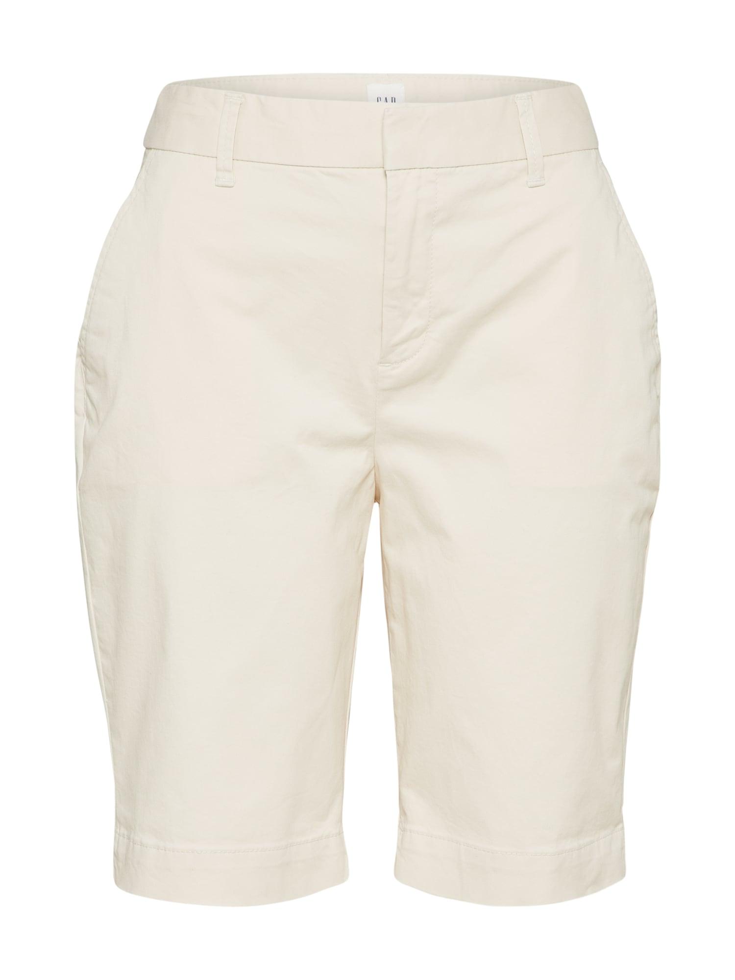Kalhoty béžová GAP