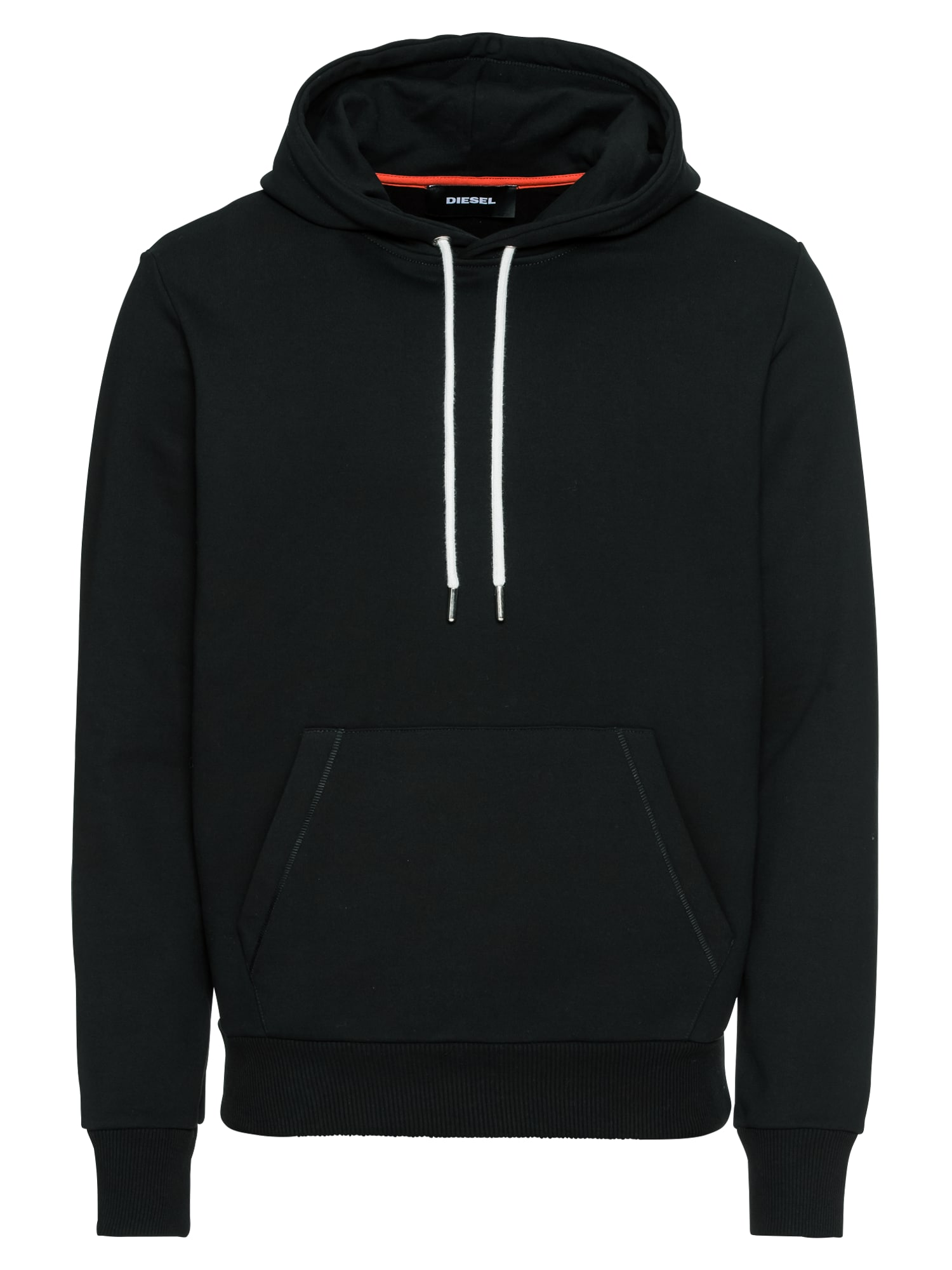DIESEL Heren Sweatshirt S-PALMY SWEAT-SHIRT zwart