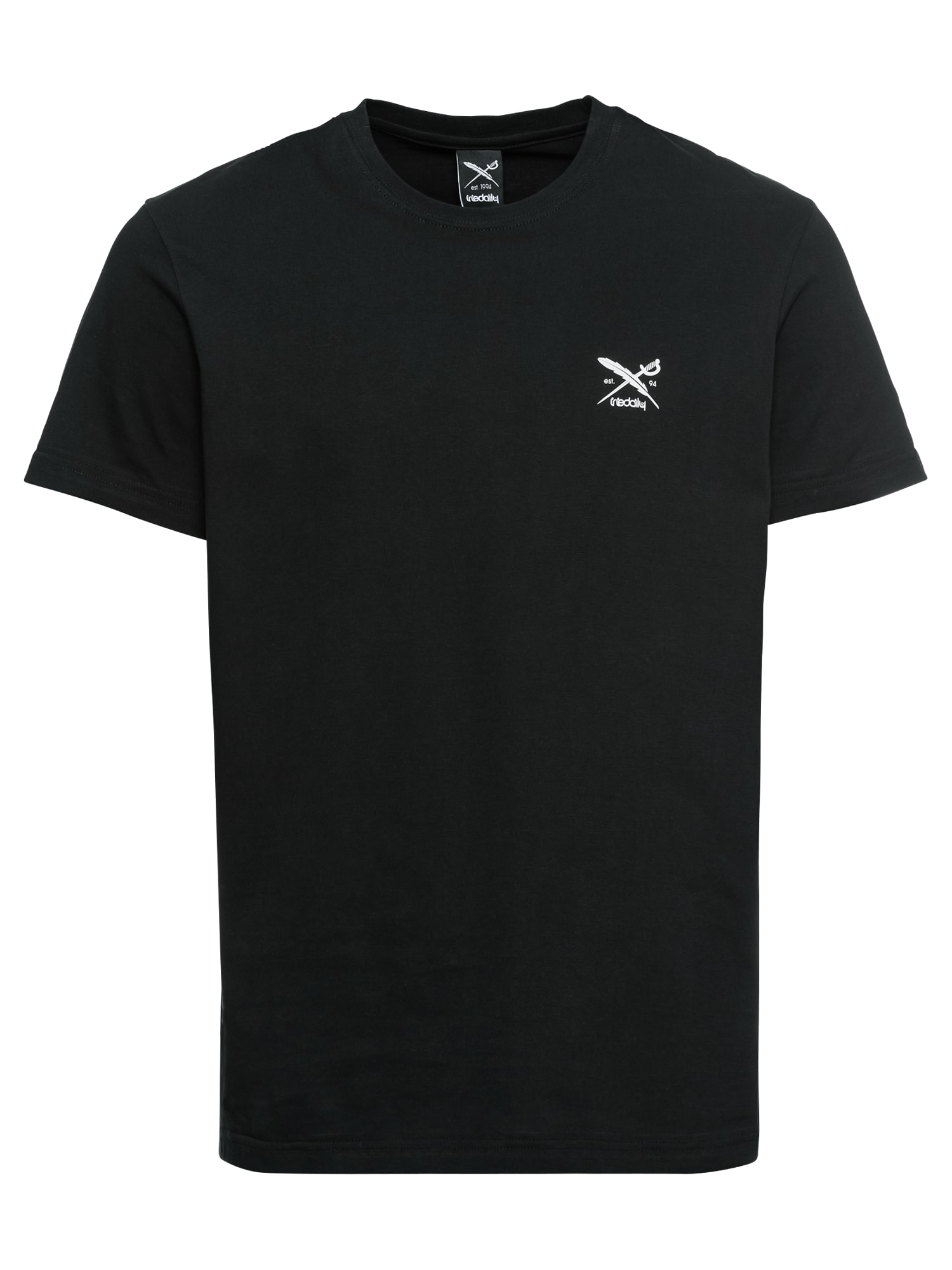Tričko Chestflag Tee černá bílá Iriedaily