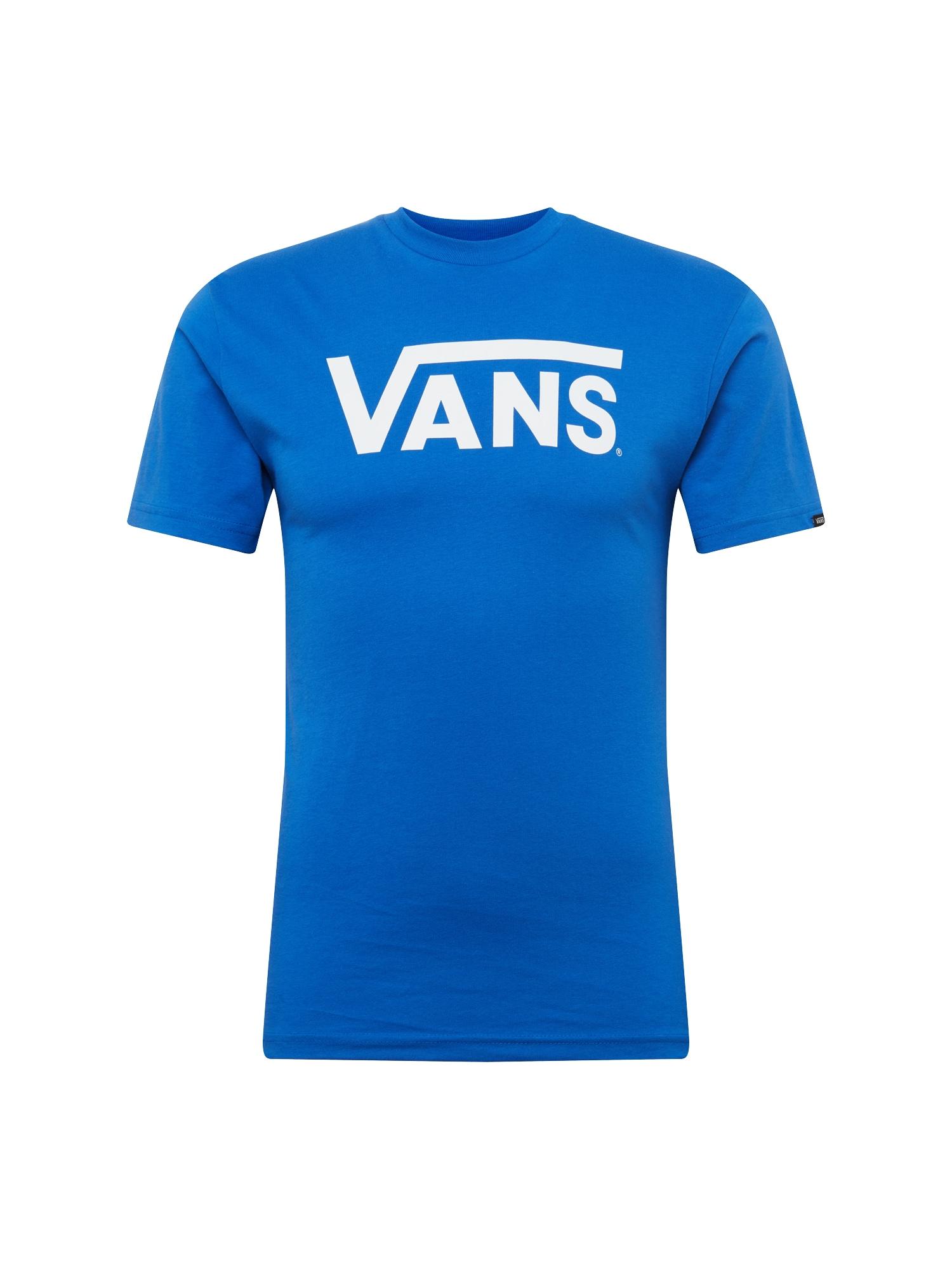 T-Shirt 'Classic' | Bekleidung > Shirts > T-Shirts | Blau - Weiß | Vans