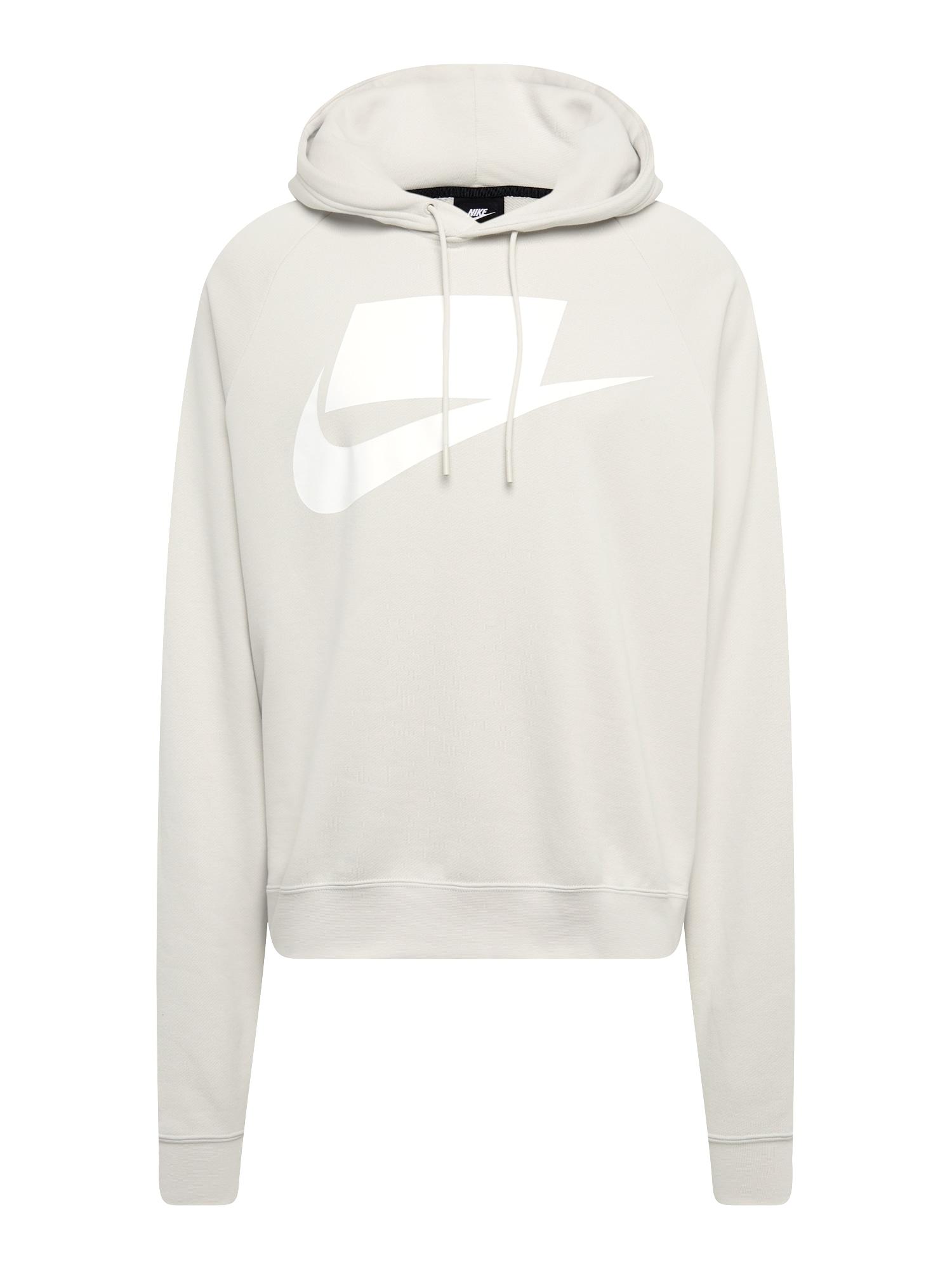 Mikina krémová bílá Nike Sportswear