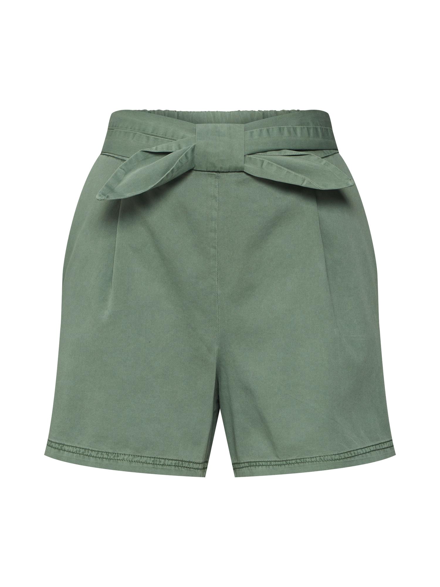 Kalhoty FLAME zelená VERO MODA