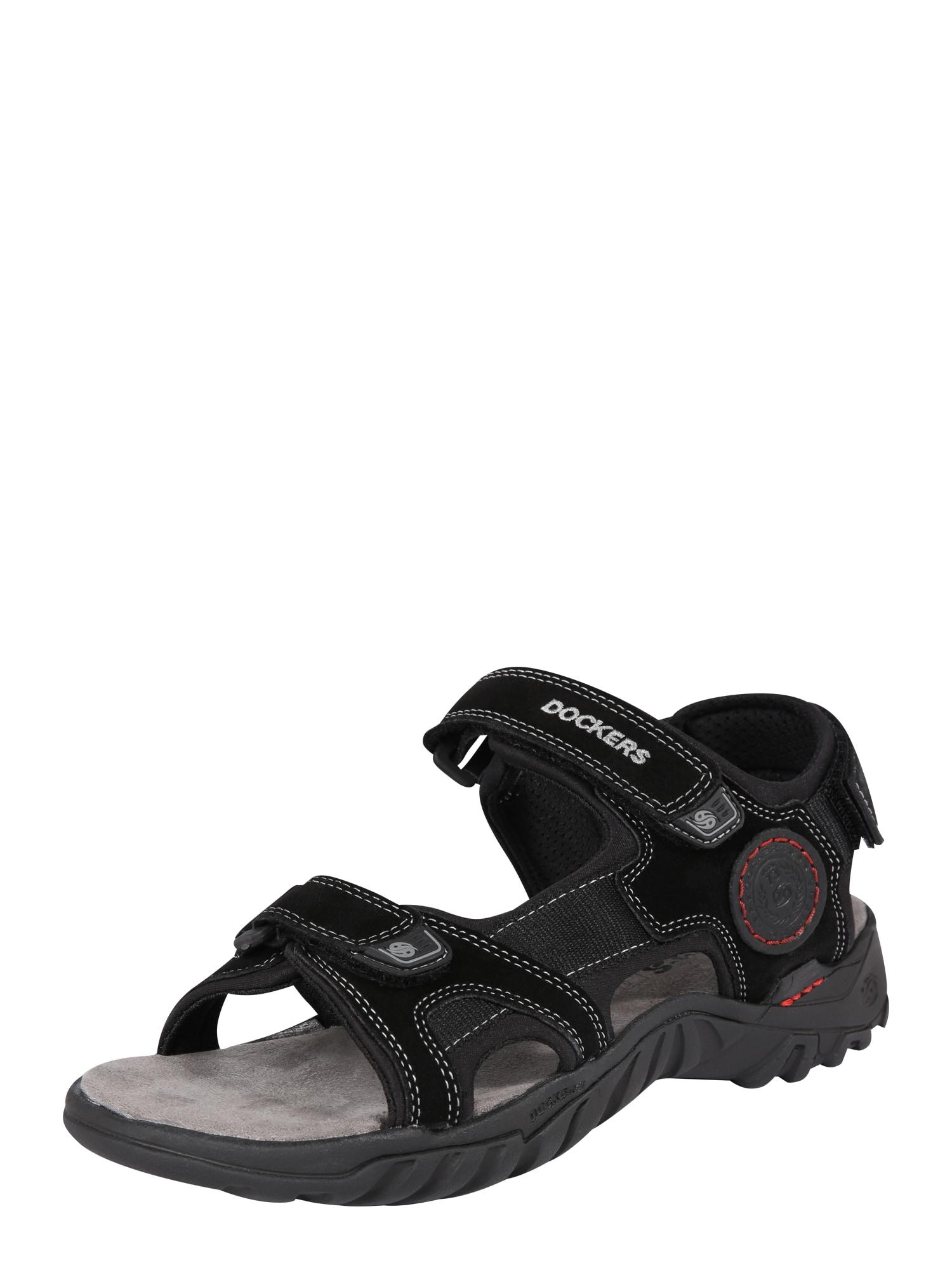 Sandály černá Dockers By Gerli