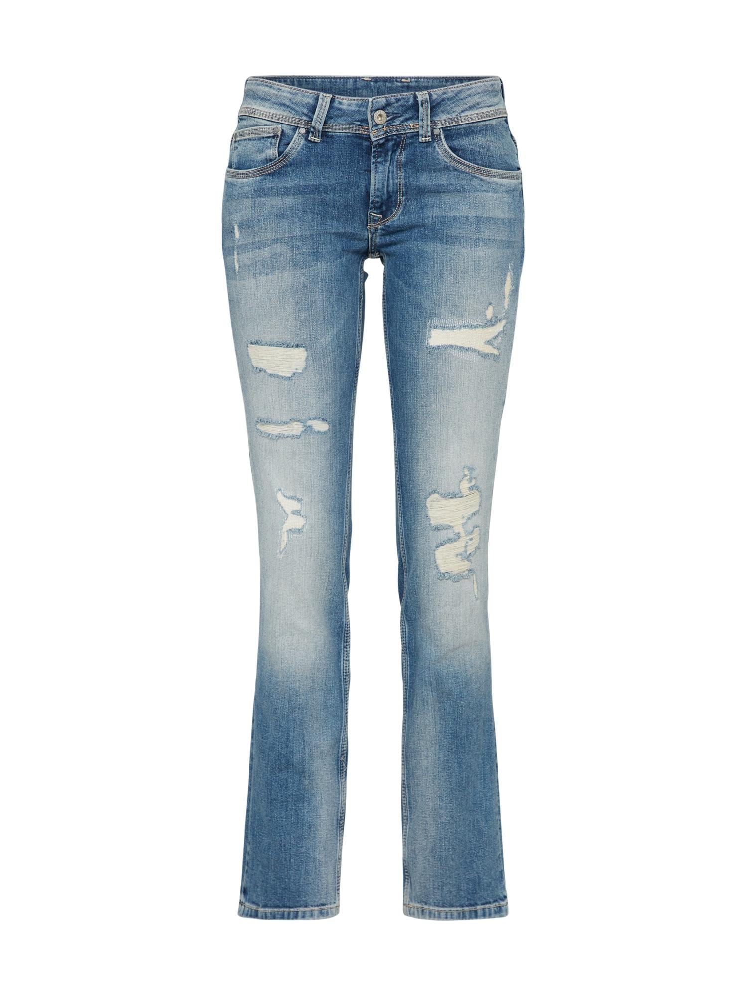 Džíny Saturn modrá Pepe Jeans