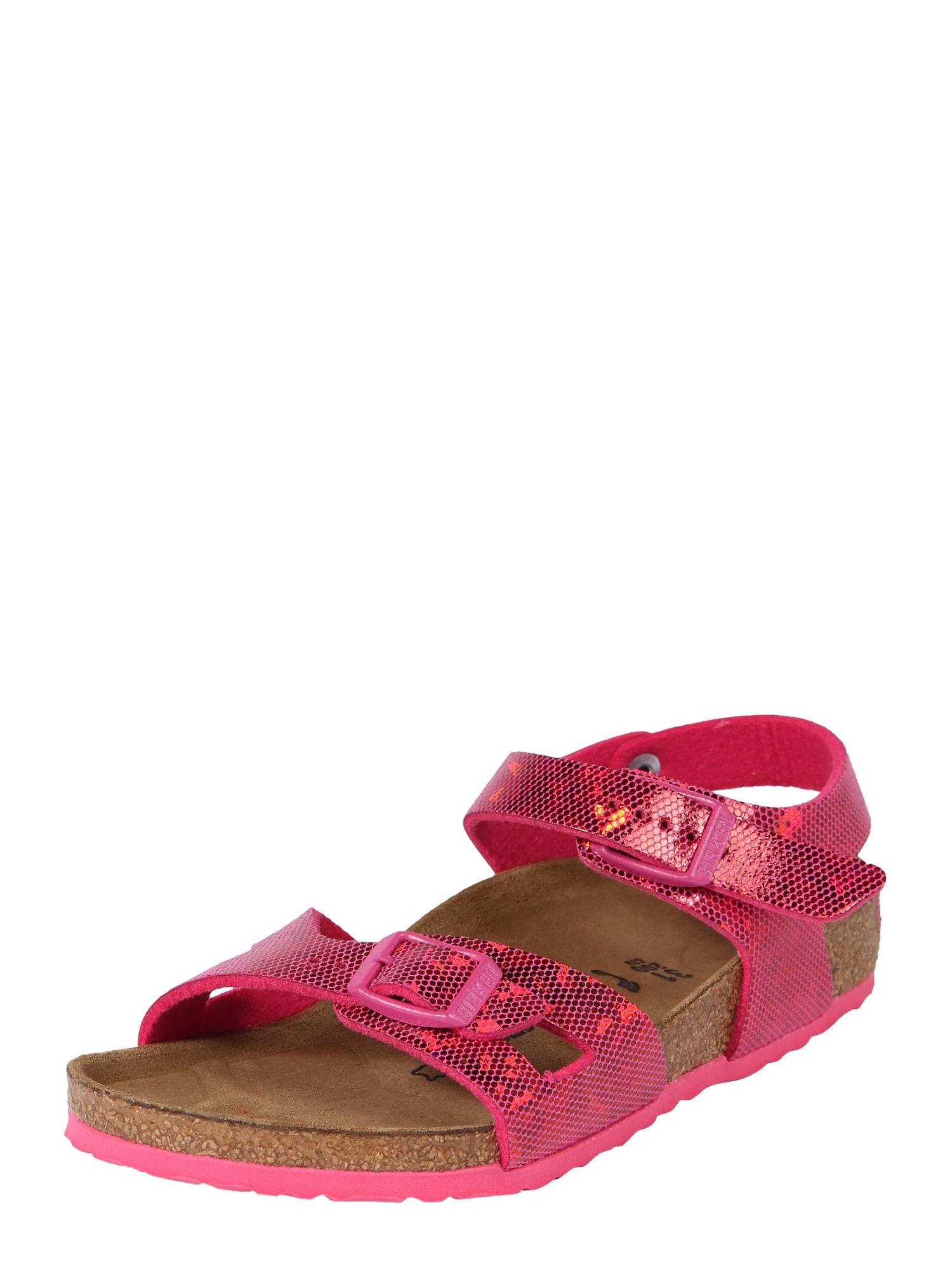 Sandály Rio Kids BF pink BIRKENSTOCK