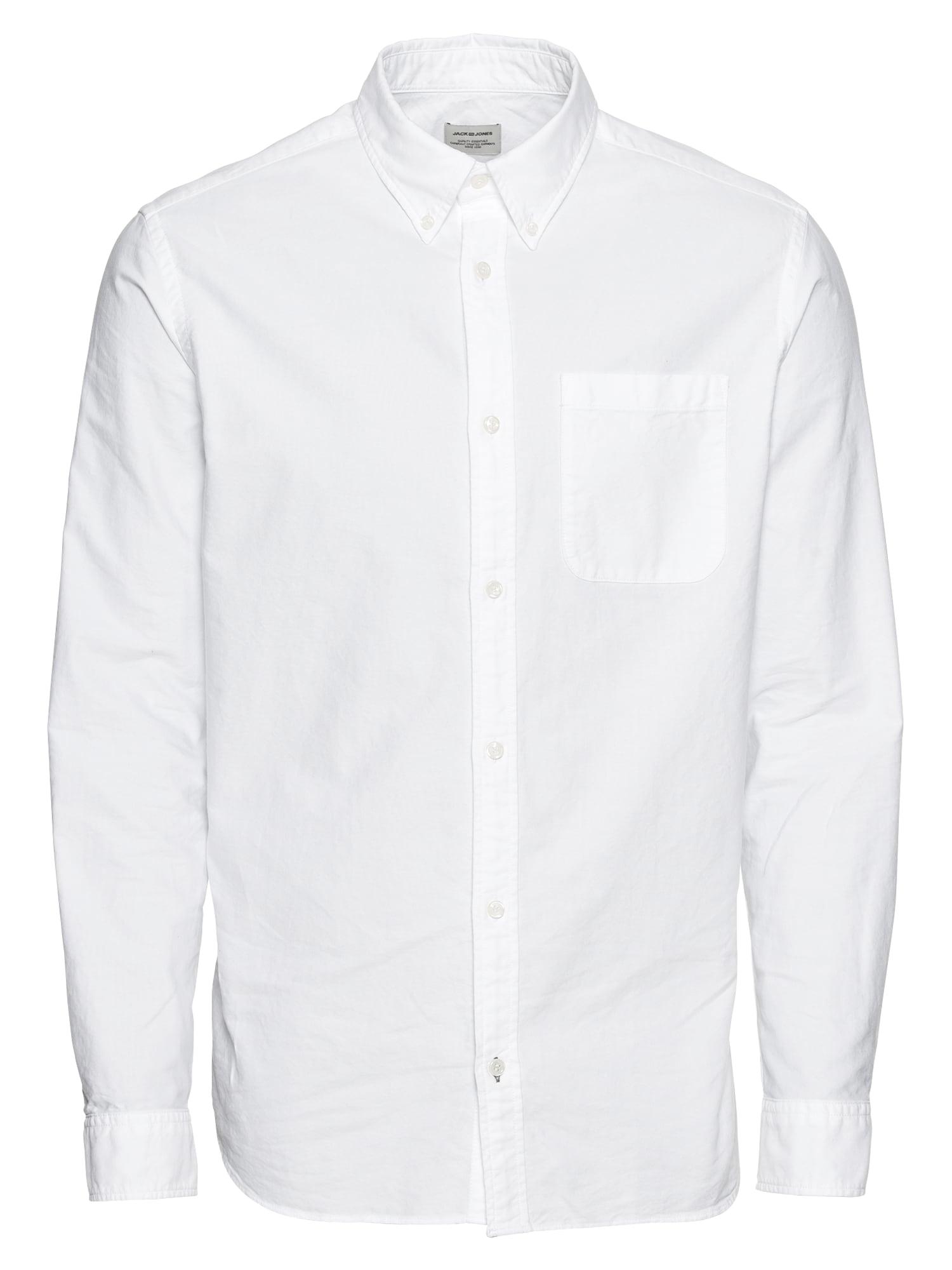 Košile JJEOXFORD bílá JACK & JONES