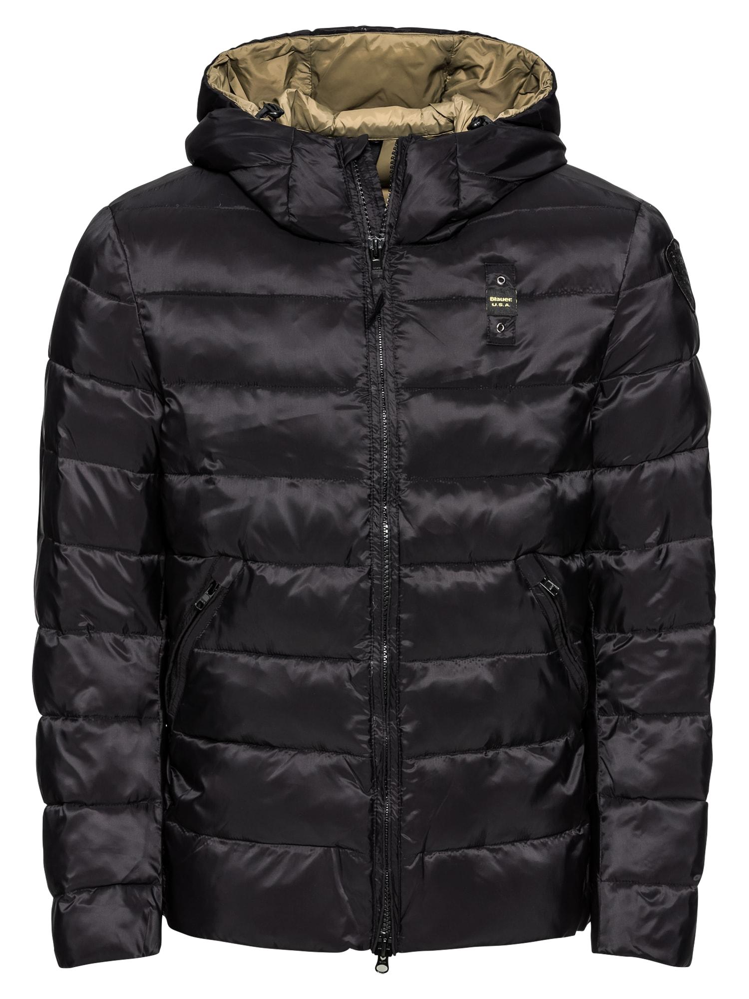 Blauer.USA Zimná bunda 'GIUBBINI CORTI IMBOTTITO'  čierna