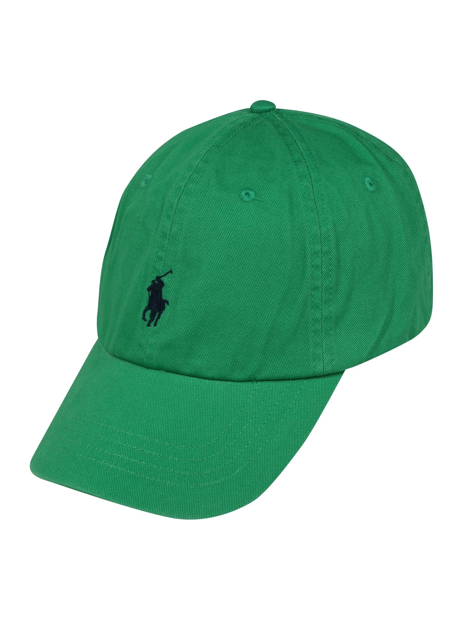 POLO RALPH LAUREN Kšiltovka  tmavě modrá / zelená