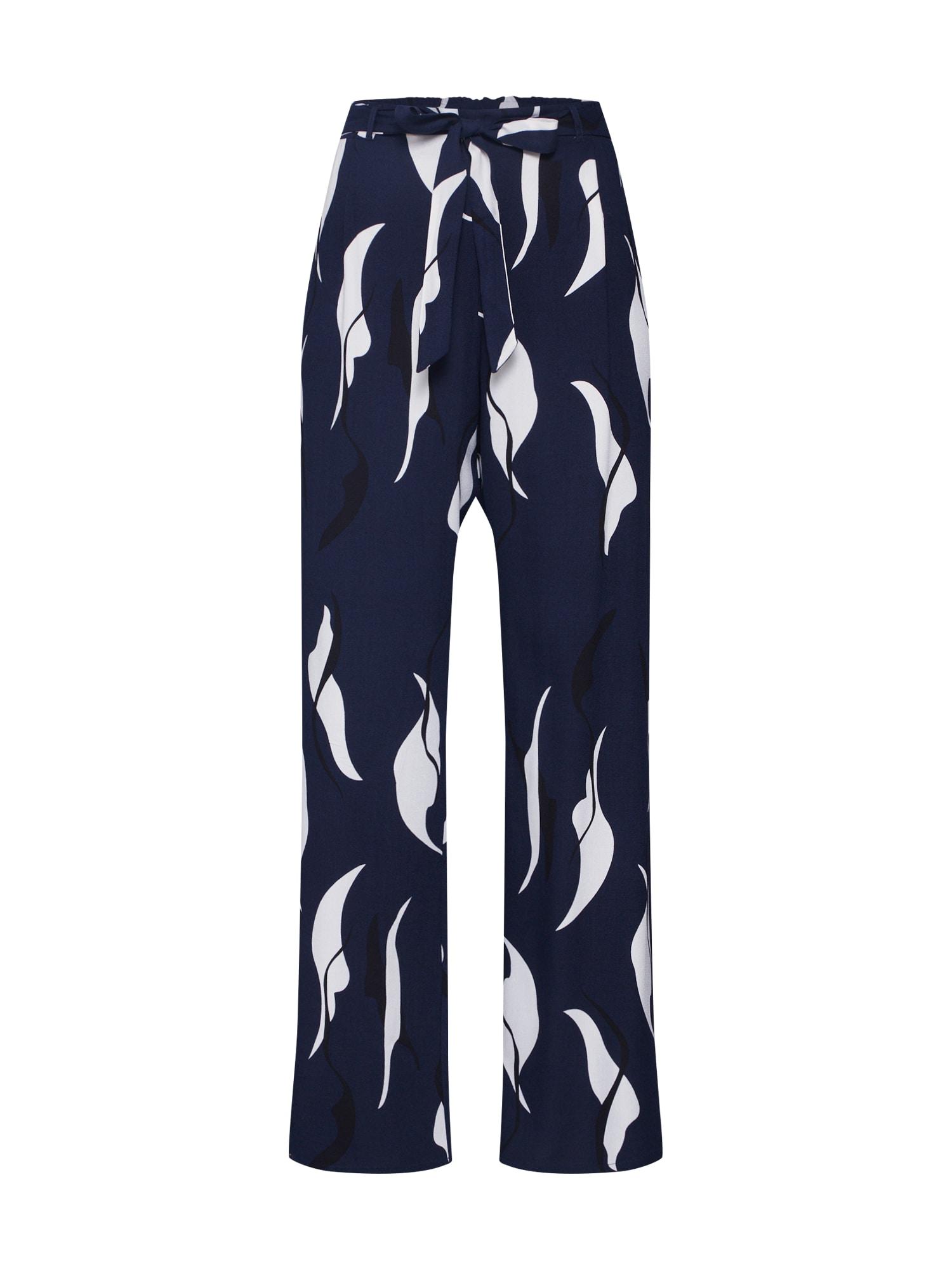 Kalhoty modrá OBJECT