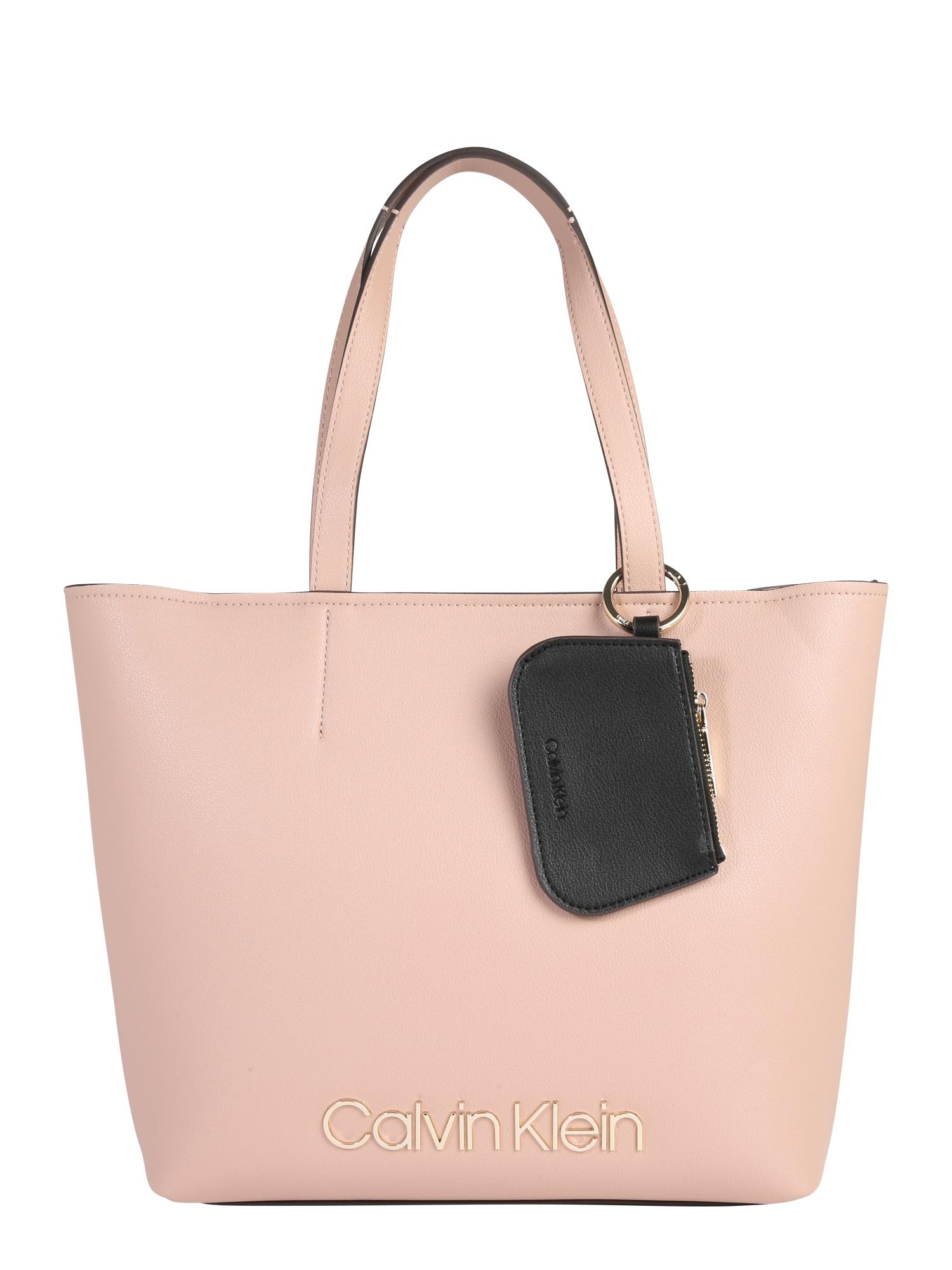 Nákupní taška CK MUST MED SHOPPER tělová Calvin Klein