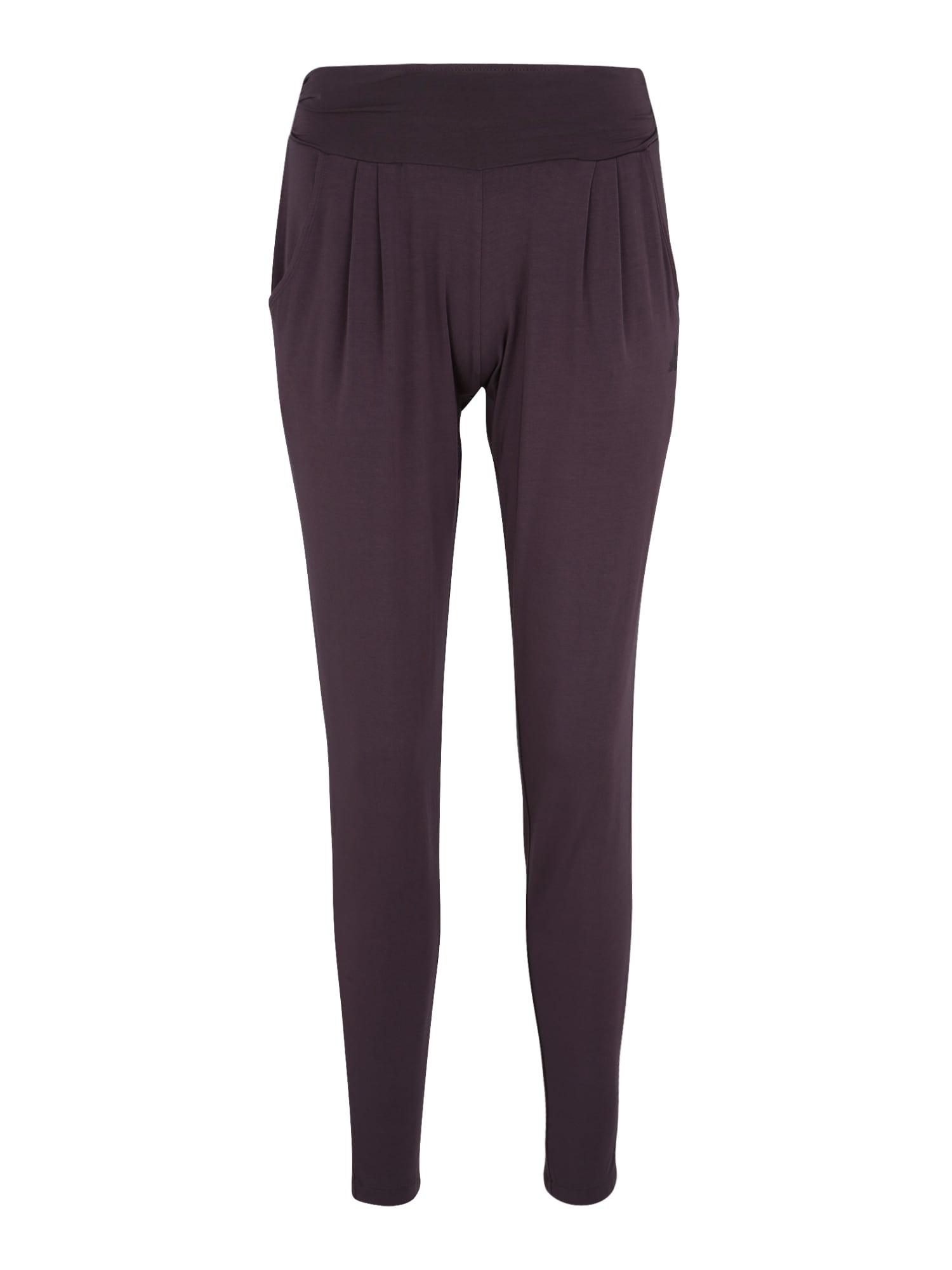 Sportovní kalhoty lilek CURARE Yogawear