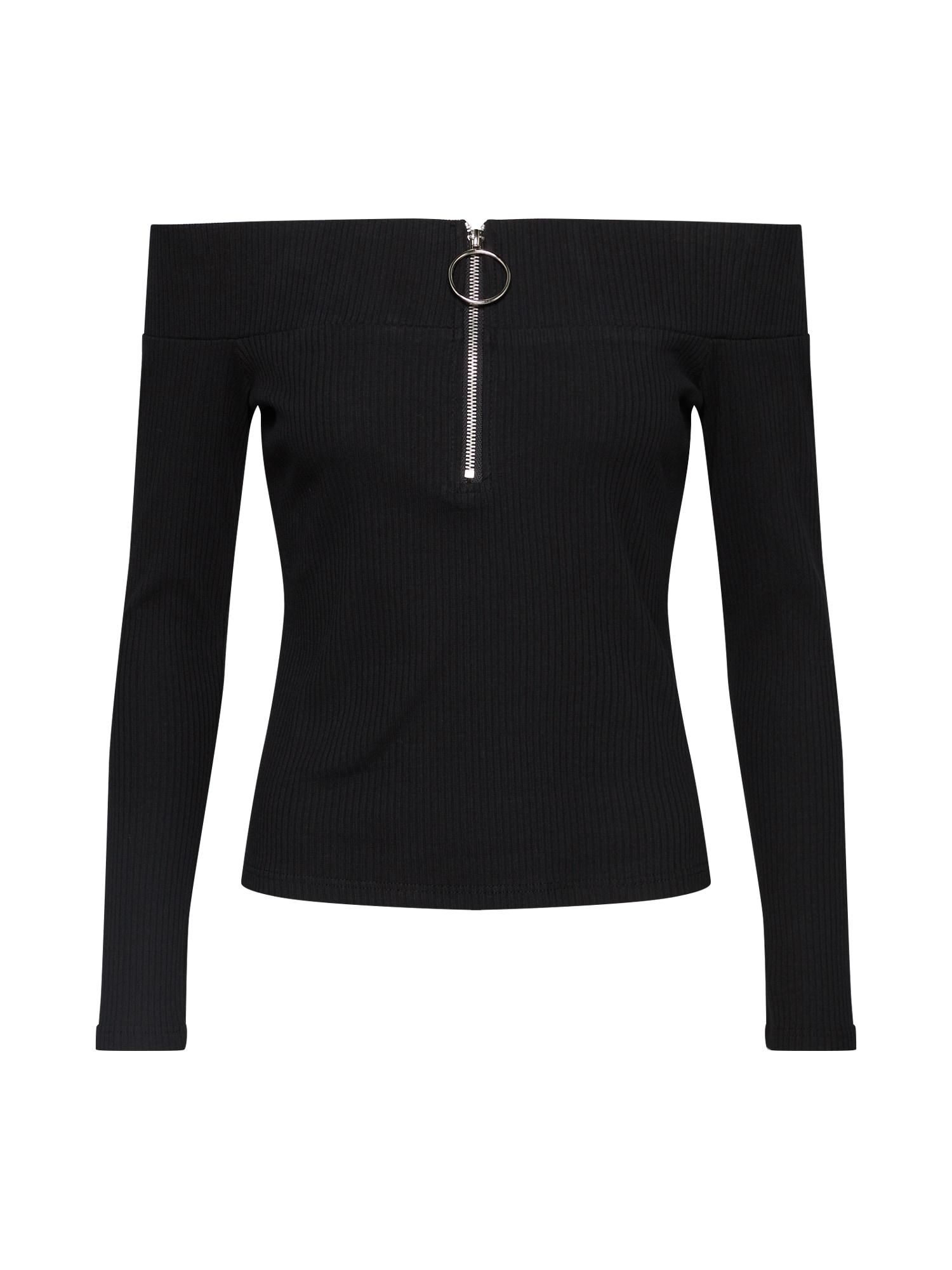 Tričko černá GLAMOROUS