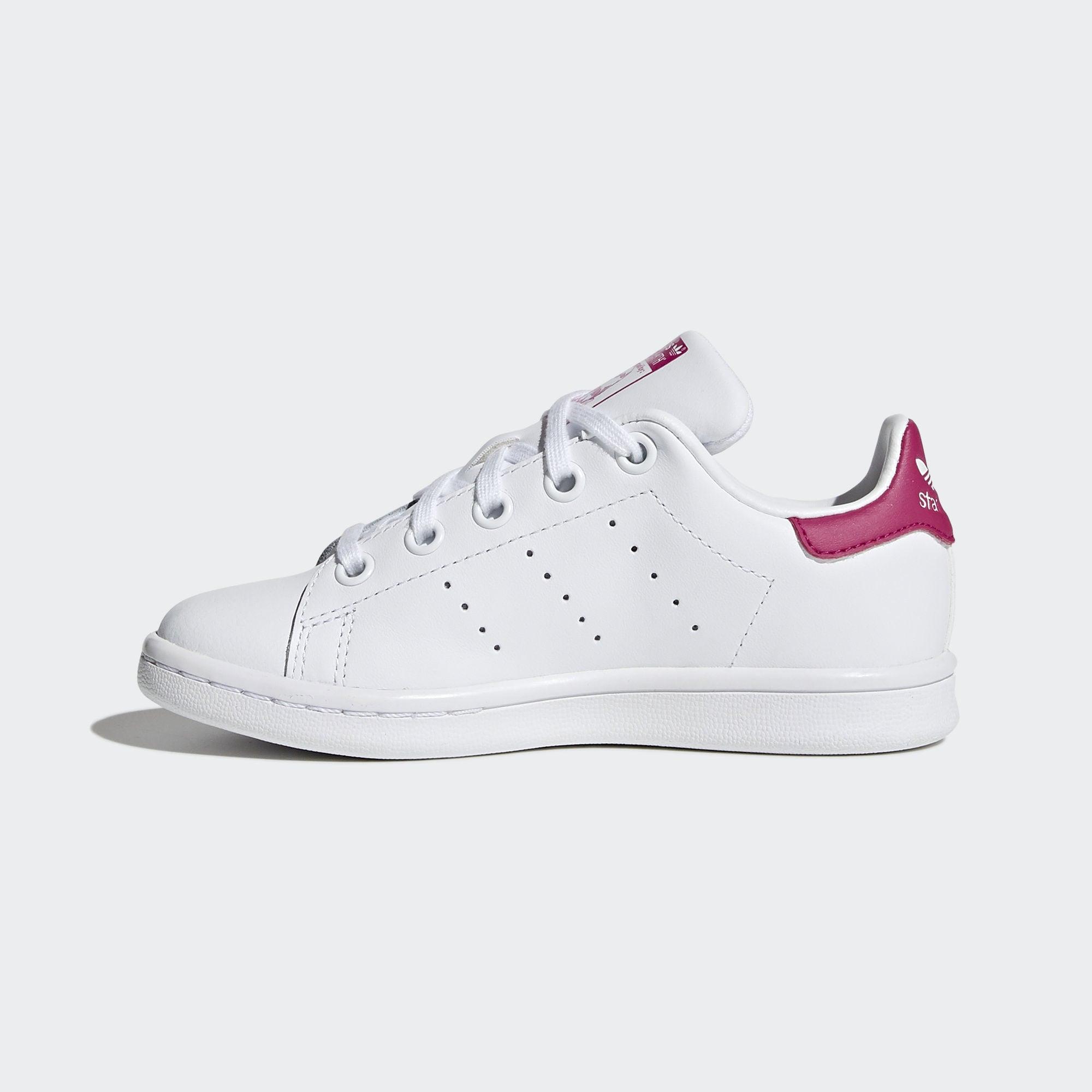 ADIDAS ORIGINALS Tenisky 'STAN SMITH'  ružová / biela