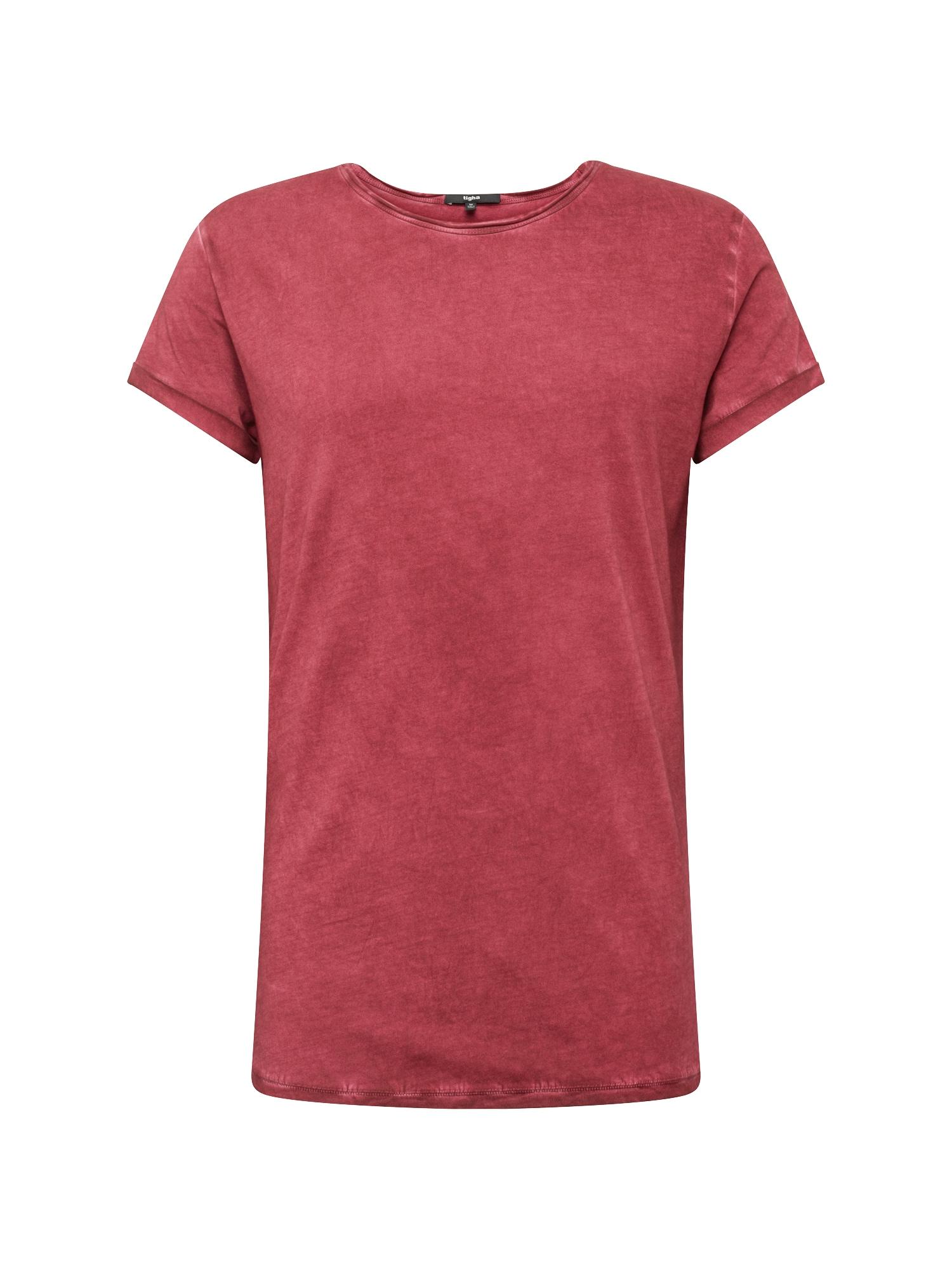 Tričko Milo pastelově červená Tigha