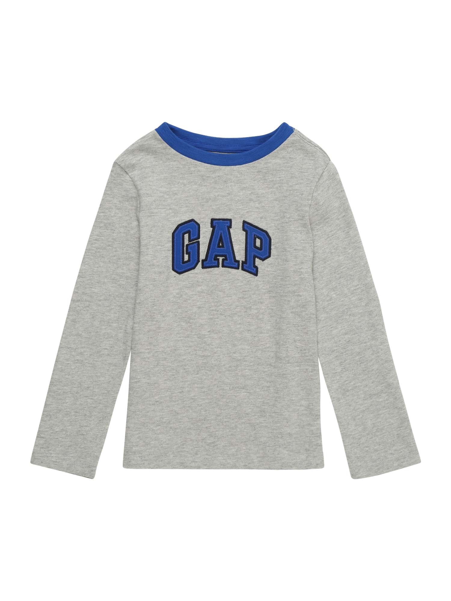 Tričko modrá světle šedá GAP