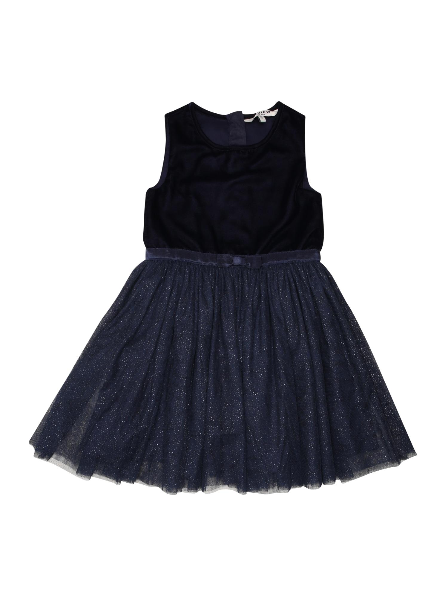 Šaty námořnická modř kobaltová modř REVIEW FOR KIDS