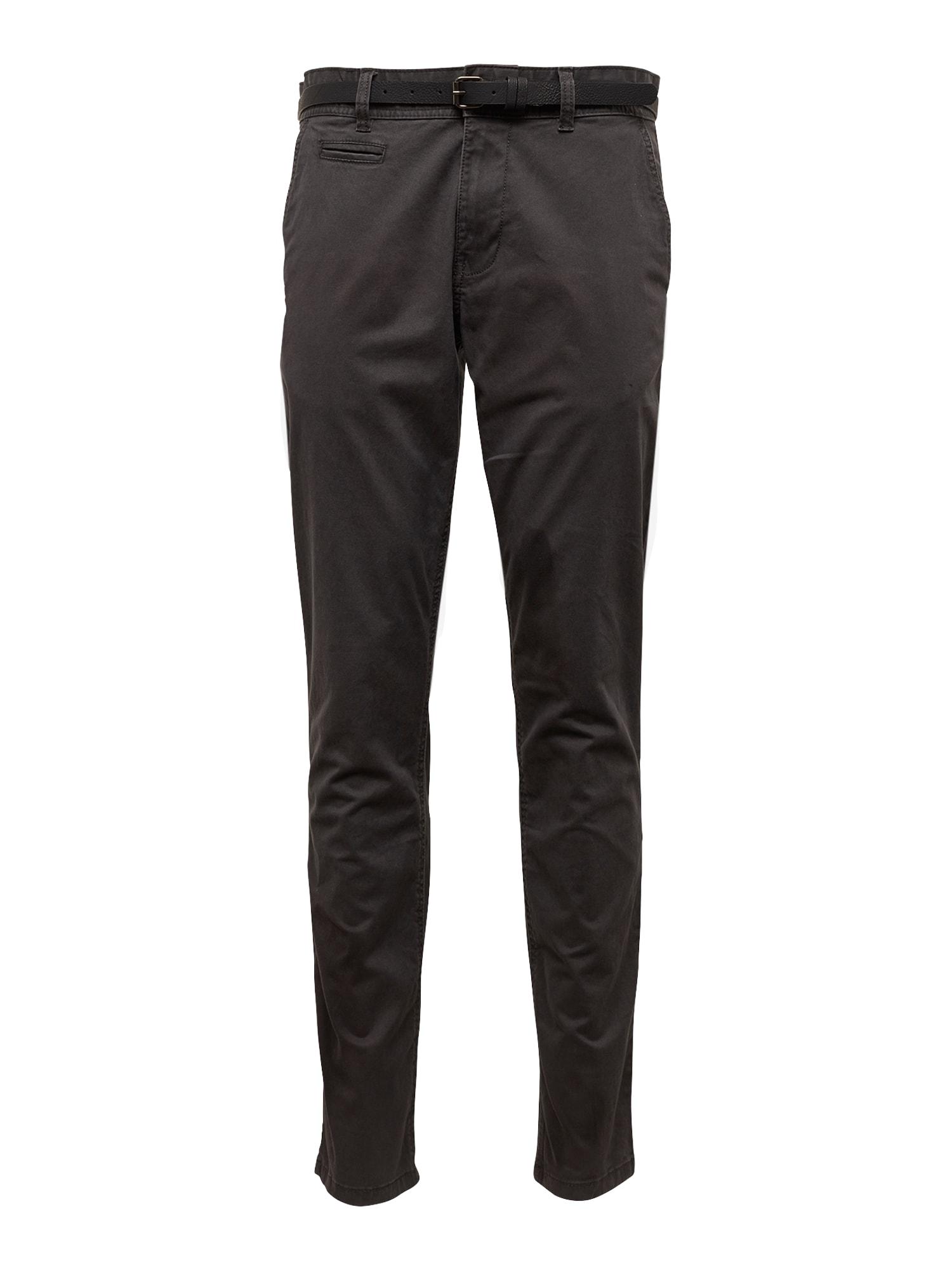 Chino kalhoty Noos Chino antracitová EDC BY ESPRIT
