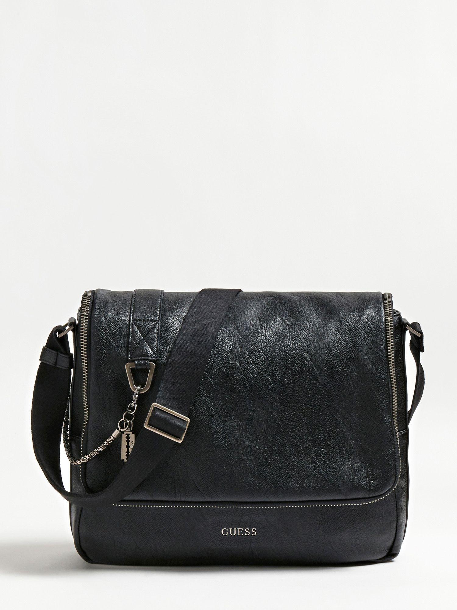 Messenger bag 'Jones' | Taschen > Business Taschen | Schwarz | Guess