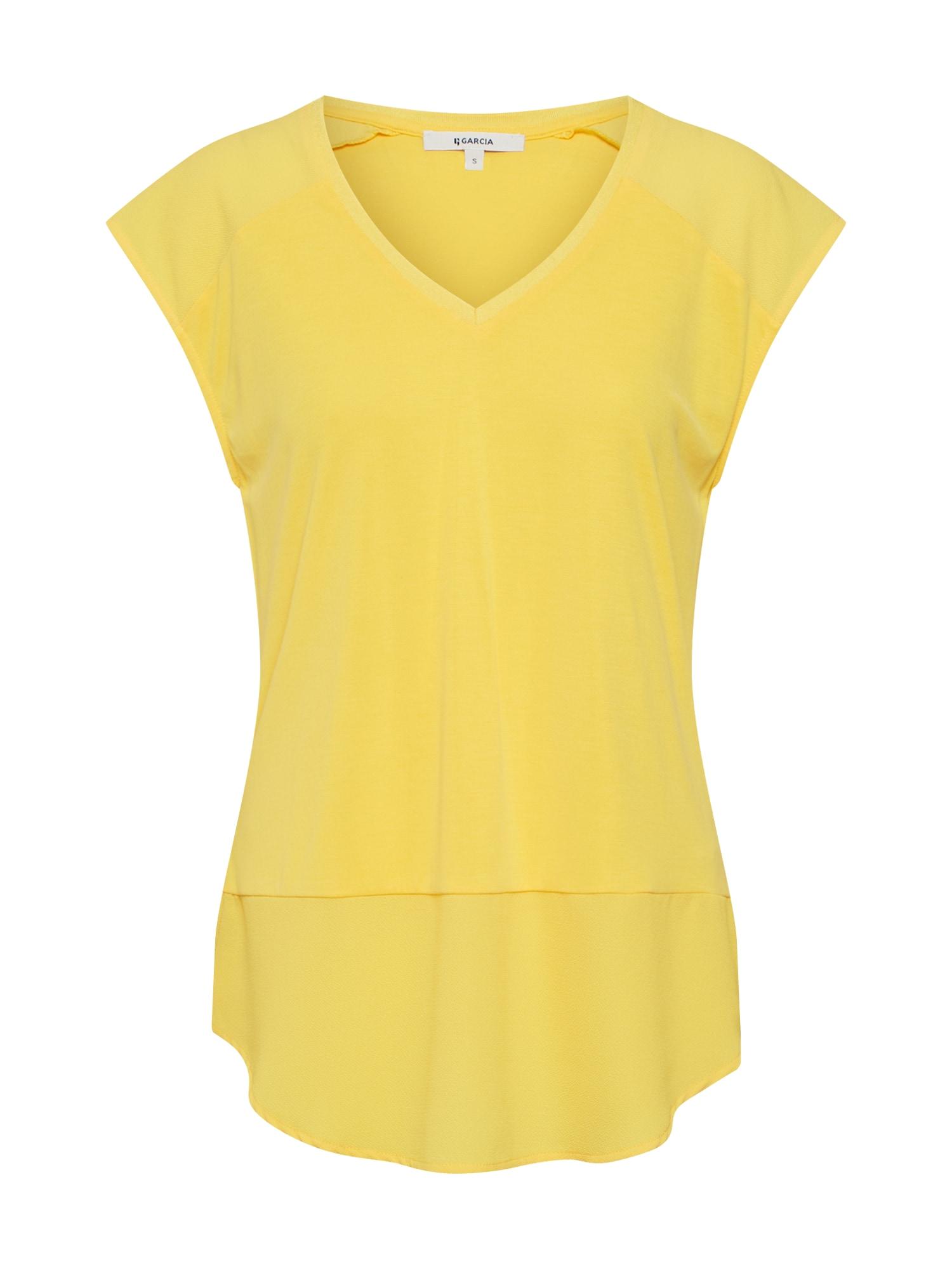 Tričko žlutá GARCIA