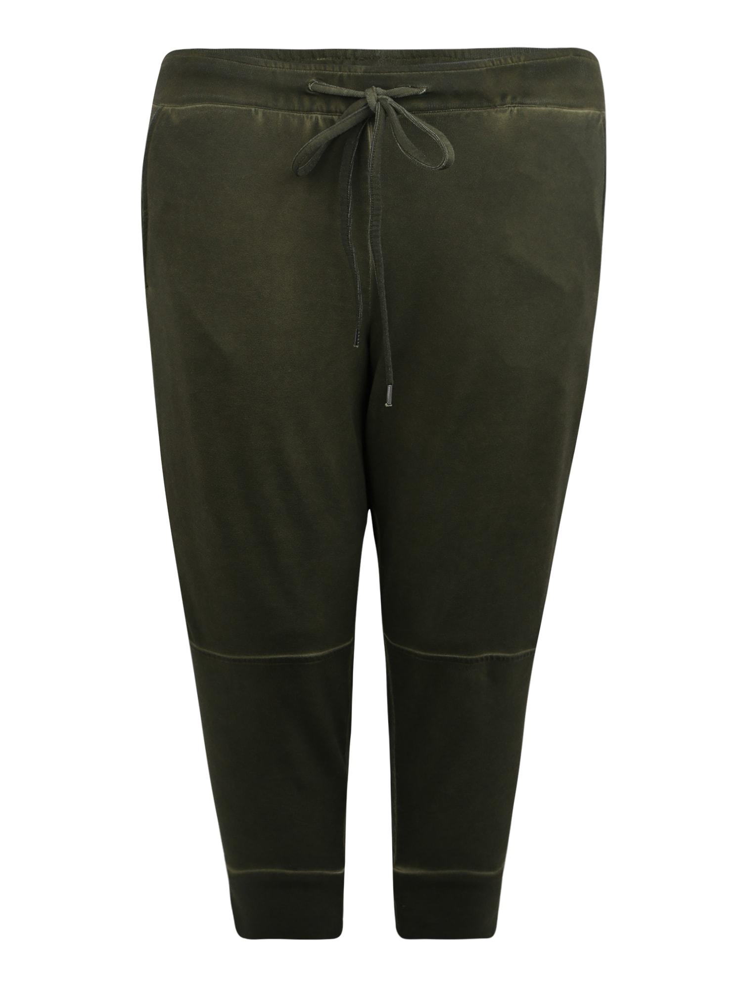 Kalhoty olivová Junarose