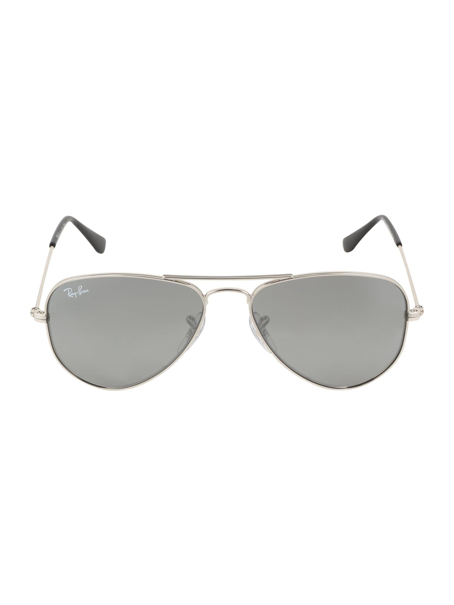 Sluneční brýle JUNIOR AVIATOR stříbrně šedá stříbrná Ray-Ban
