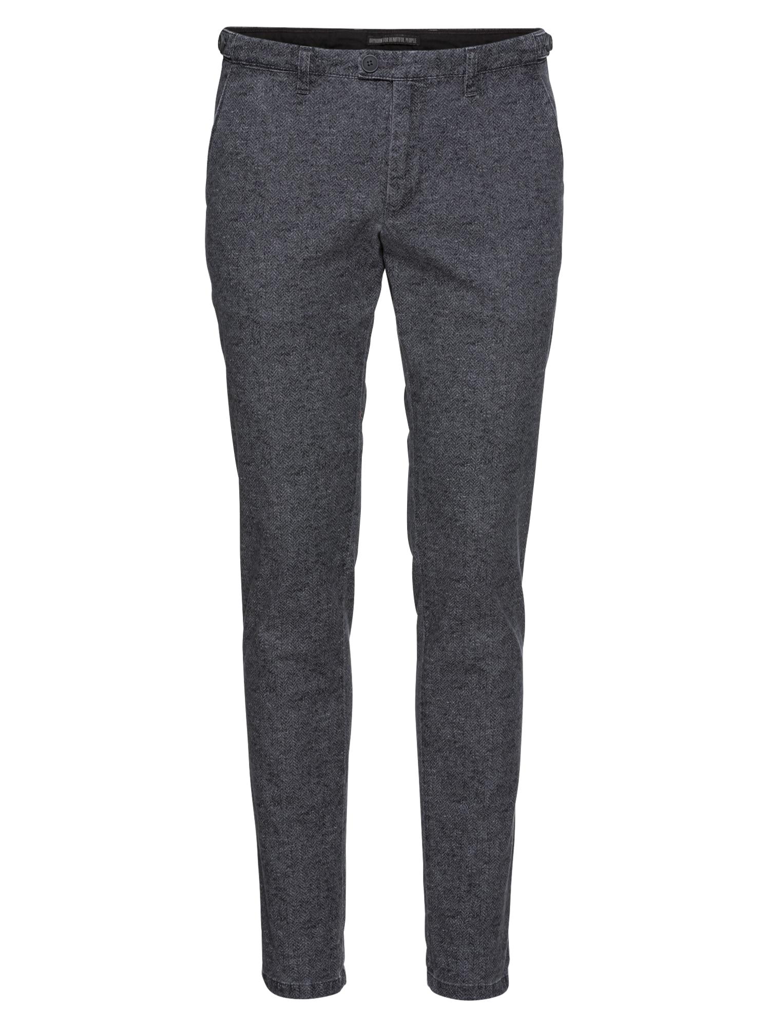 Chino kalhoty KILL šedá DRYKORN