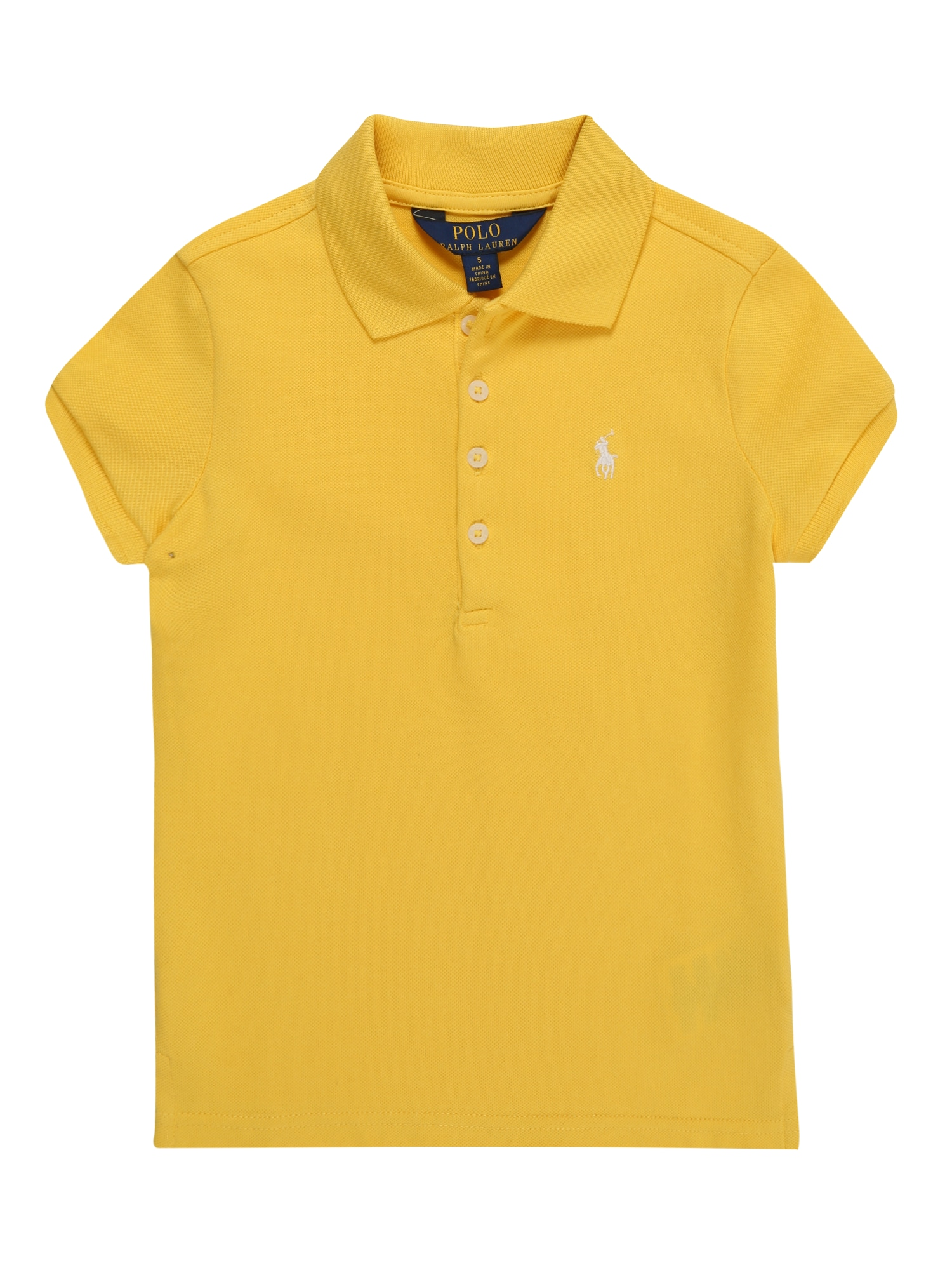 Tričko STRETCH MESH žlutá POLO RALPH LAUREN