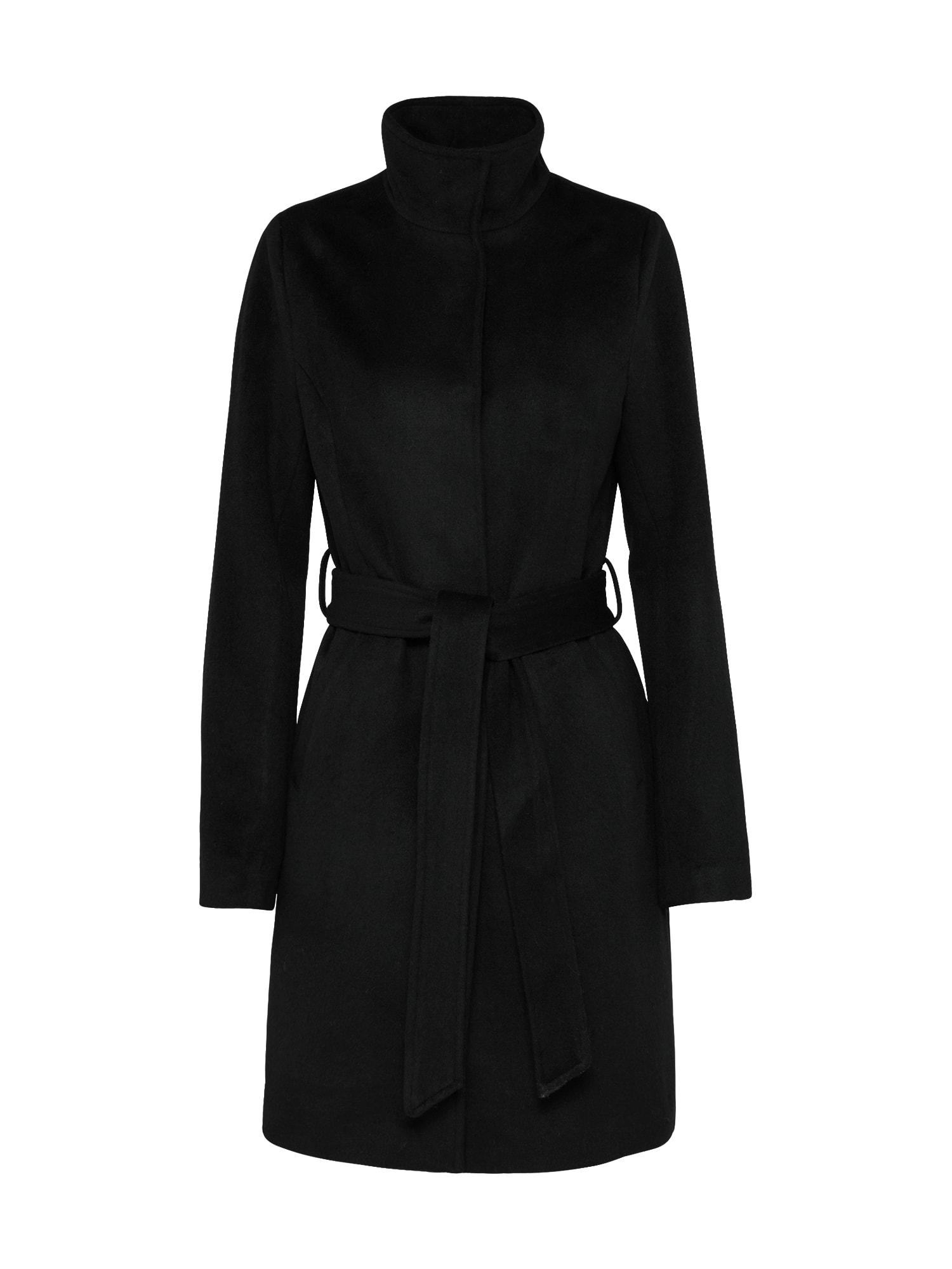 Zimní kabát CARMINA černá ABOUT YOU