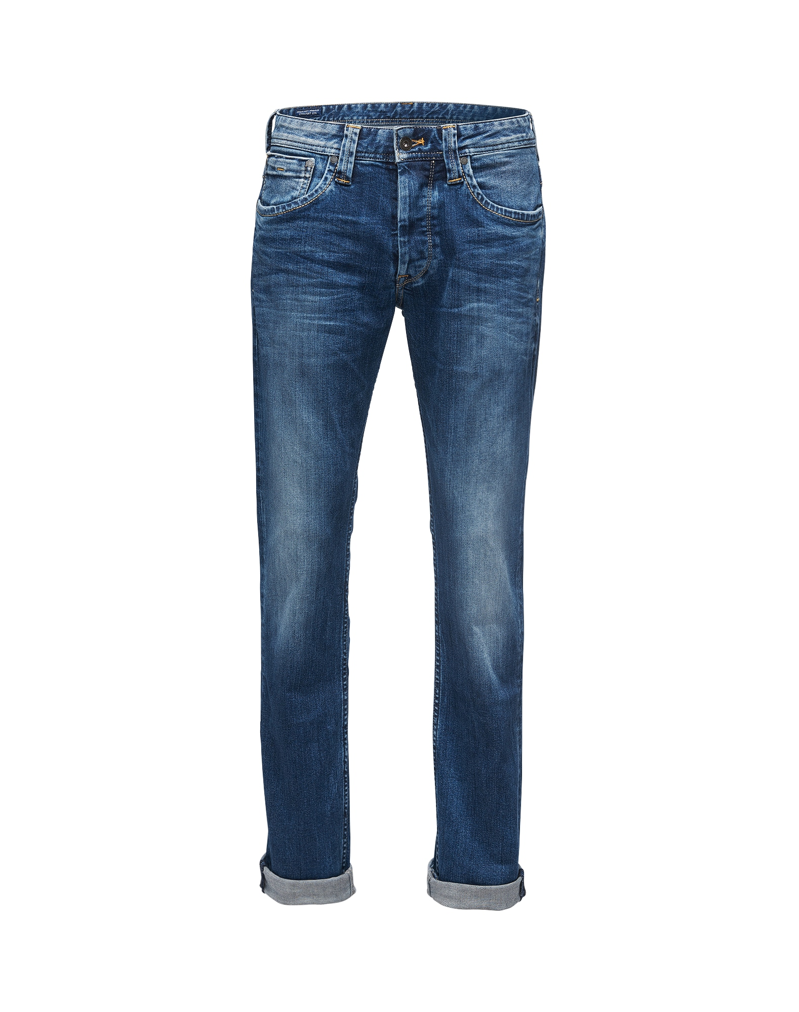 Pepe Jeans Heren Jeans Cash blauw denim
