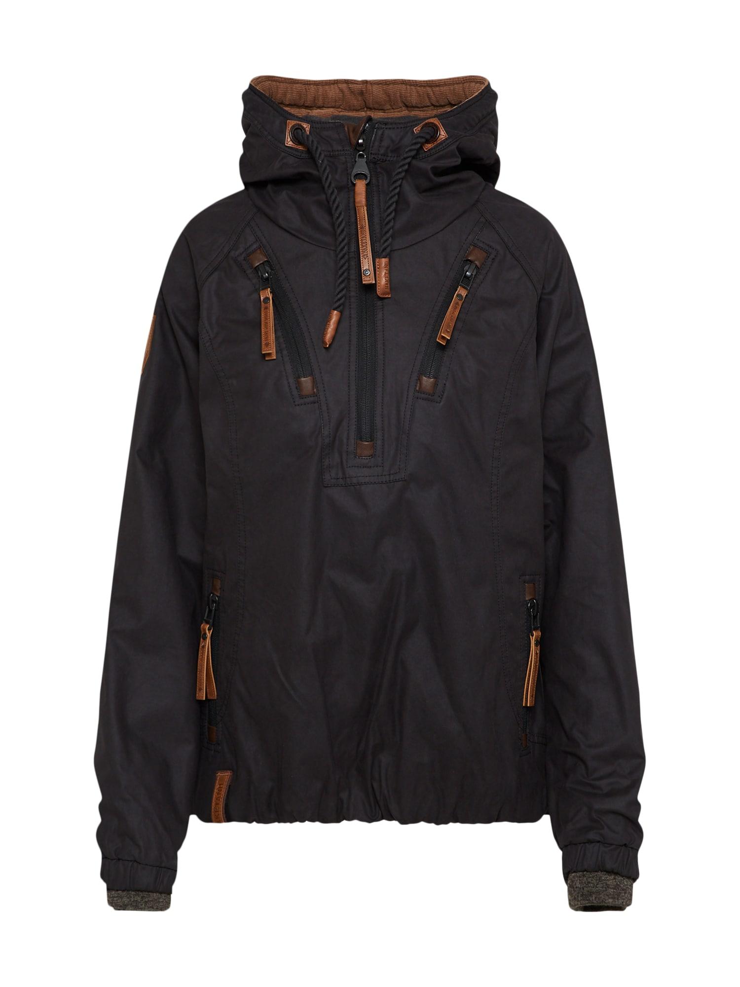 Přechodná bunda černá Naketano