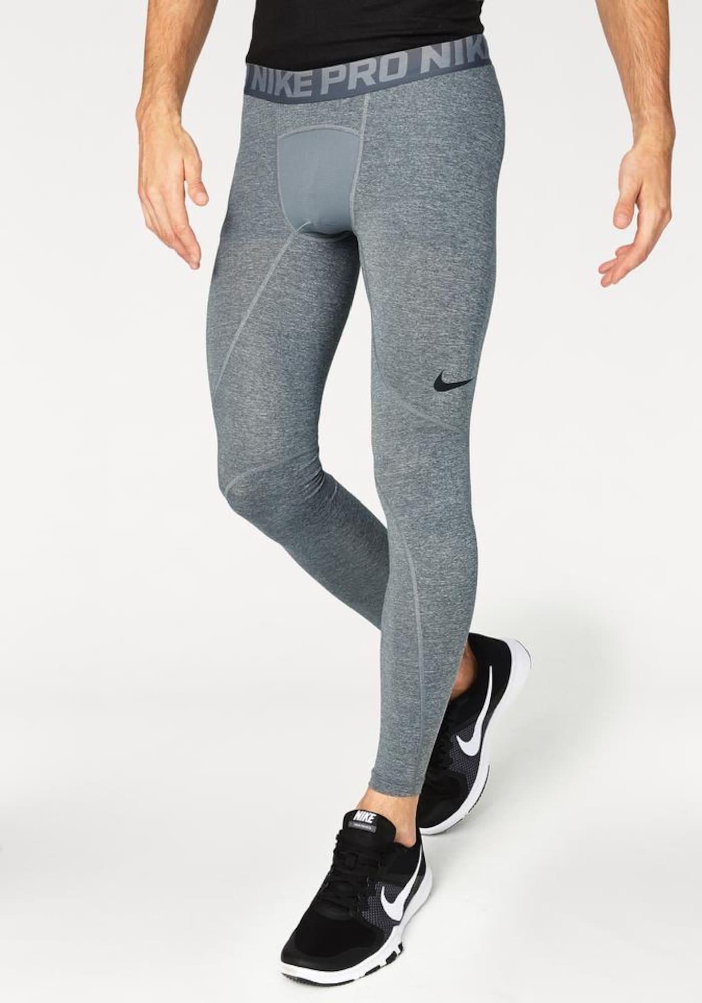 Sportovní kalhoty M PRO TIGHT šedá NIKE