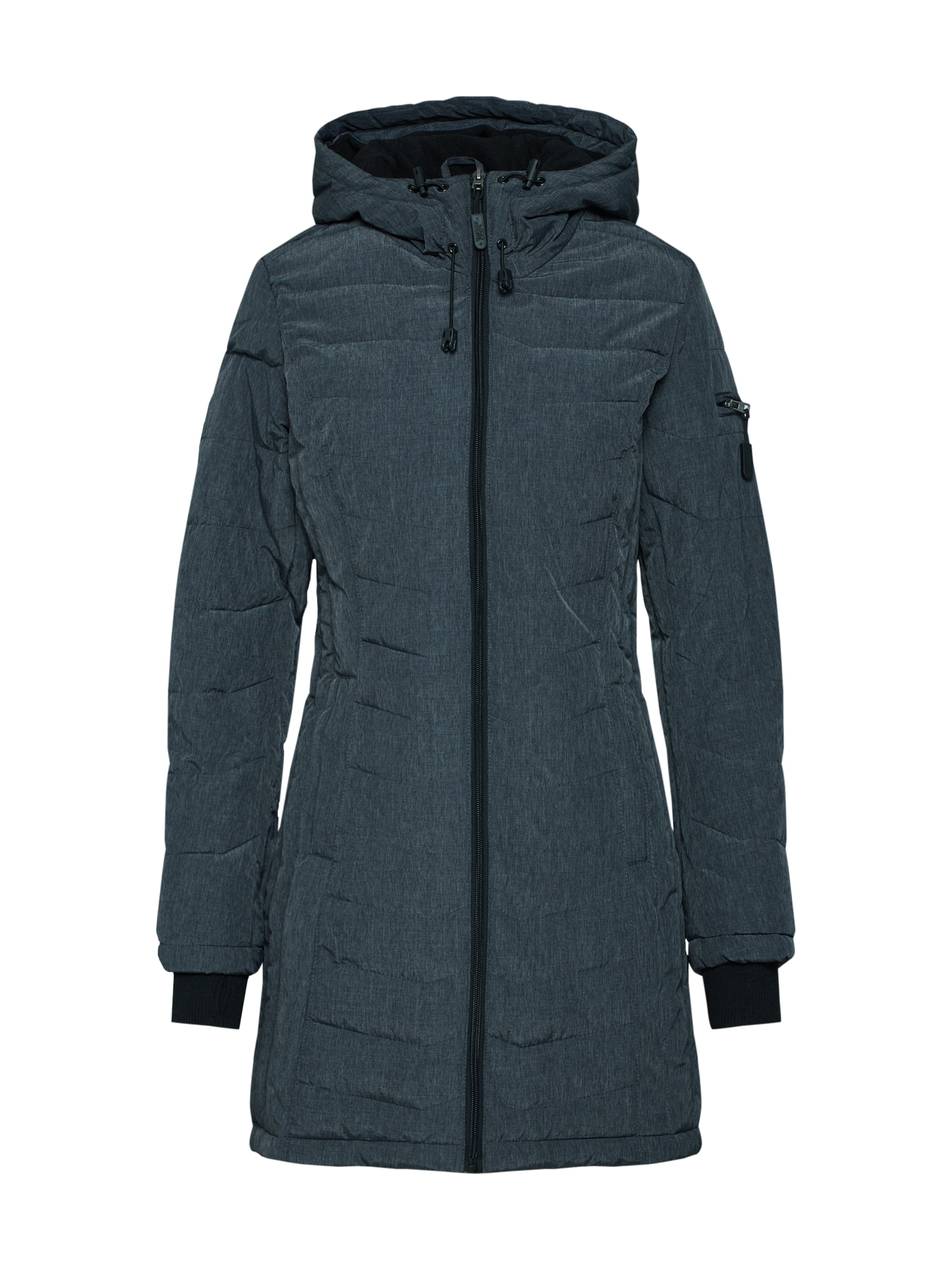 Zimní kabát antracitová Sublevel