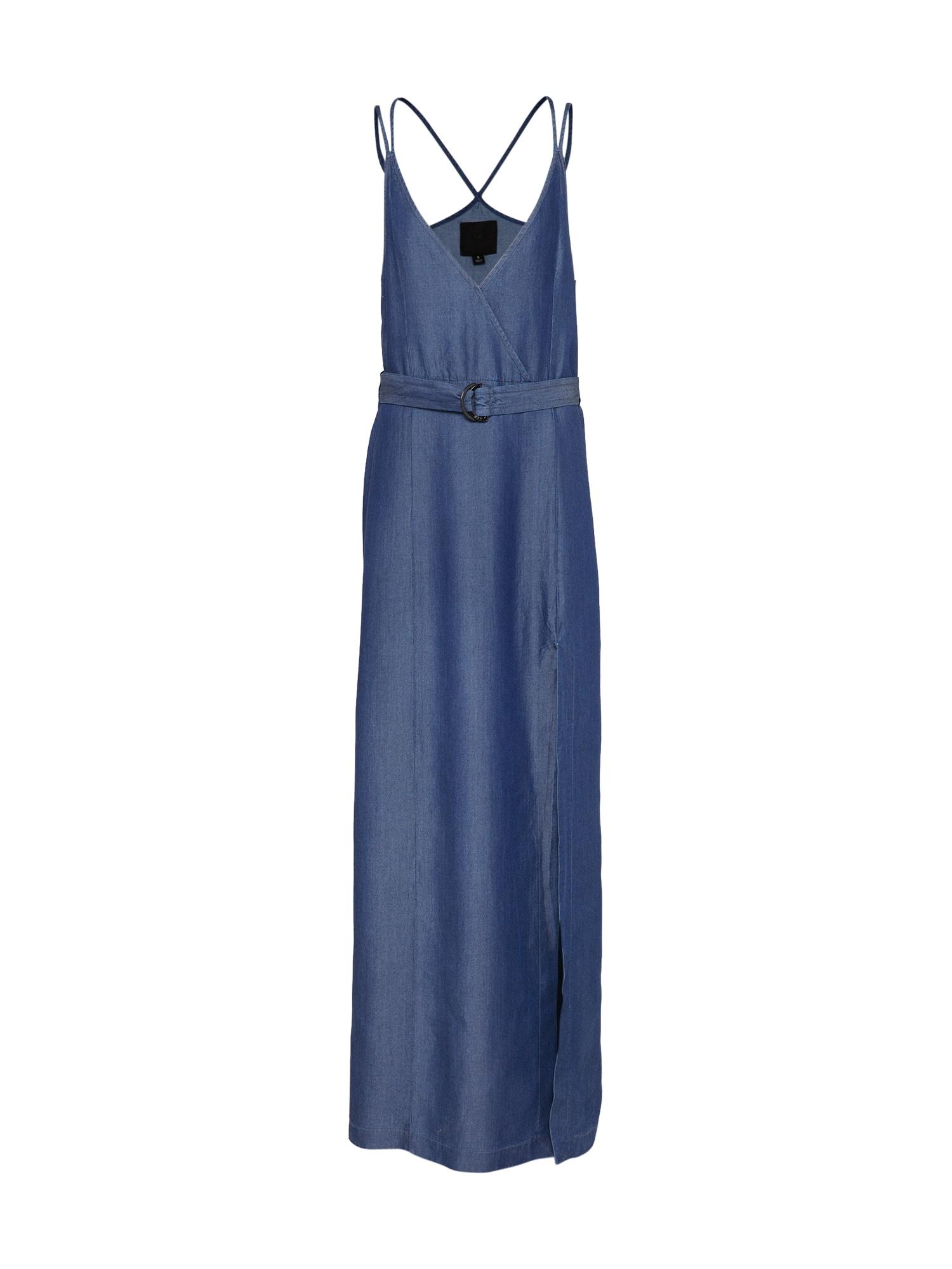 Šaty GS singlet modrá džínovina G-STAR RAW