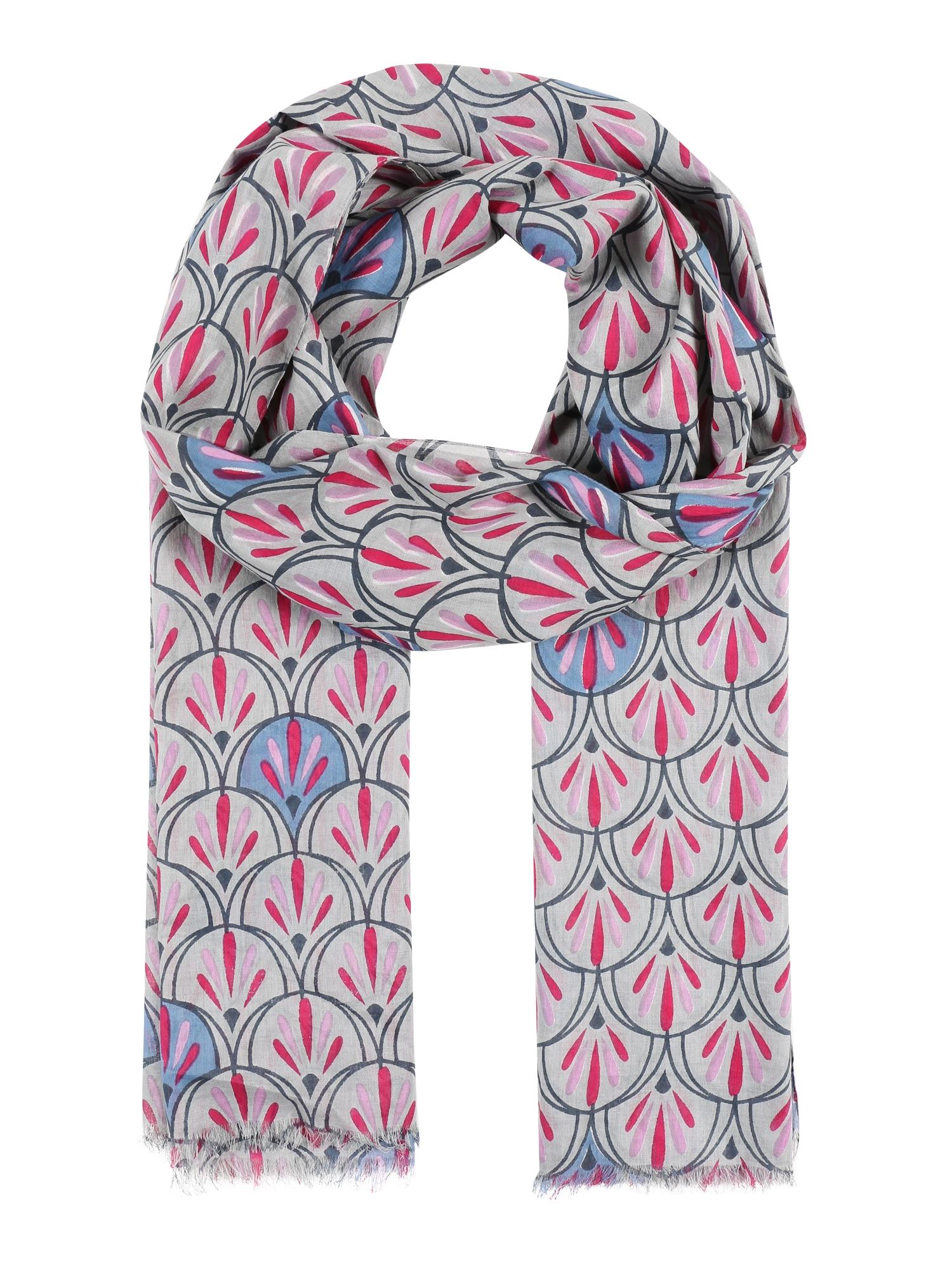 Šála Doriane krémová pink UNMADE Copenhagen