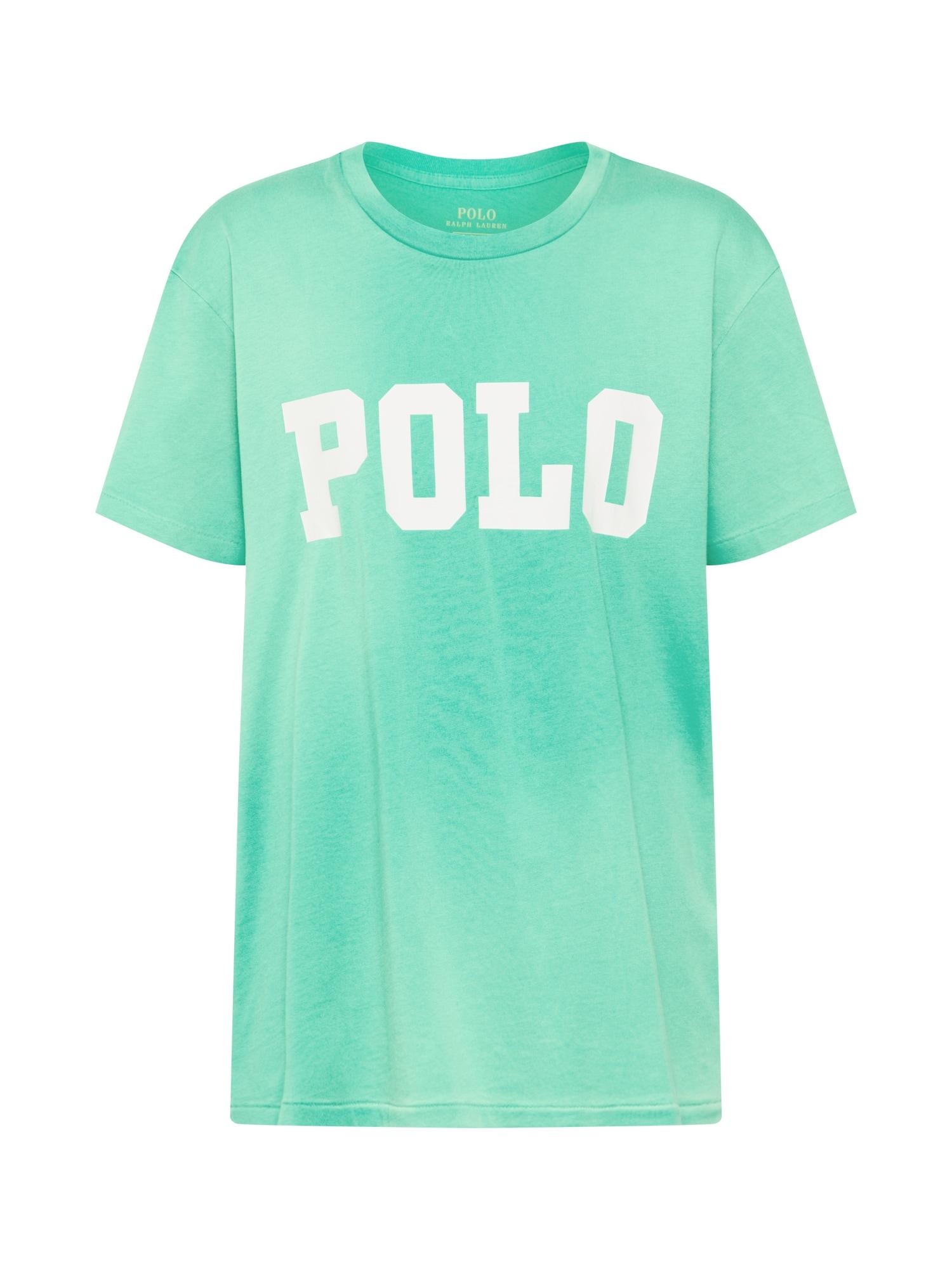 Tričko BIG POLO zelená bílá POLO RALPH LAUREN