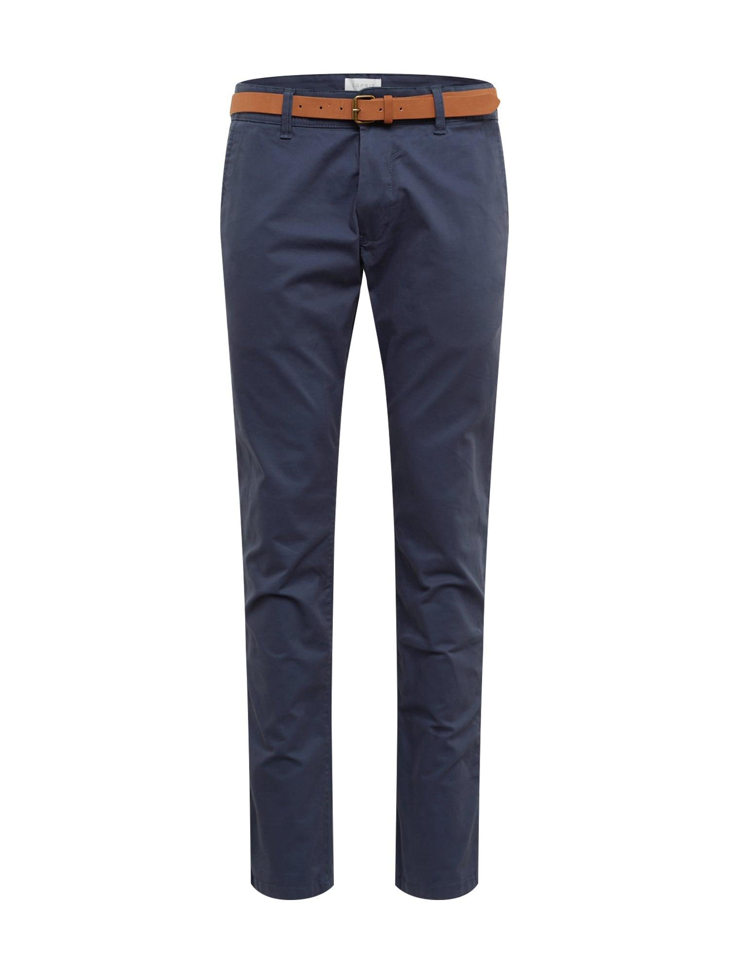 Chino kalhoty NOOS Chino modrá ESPRIT