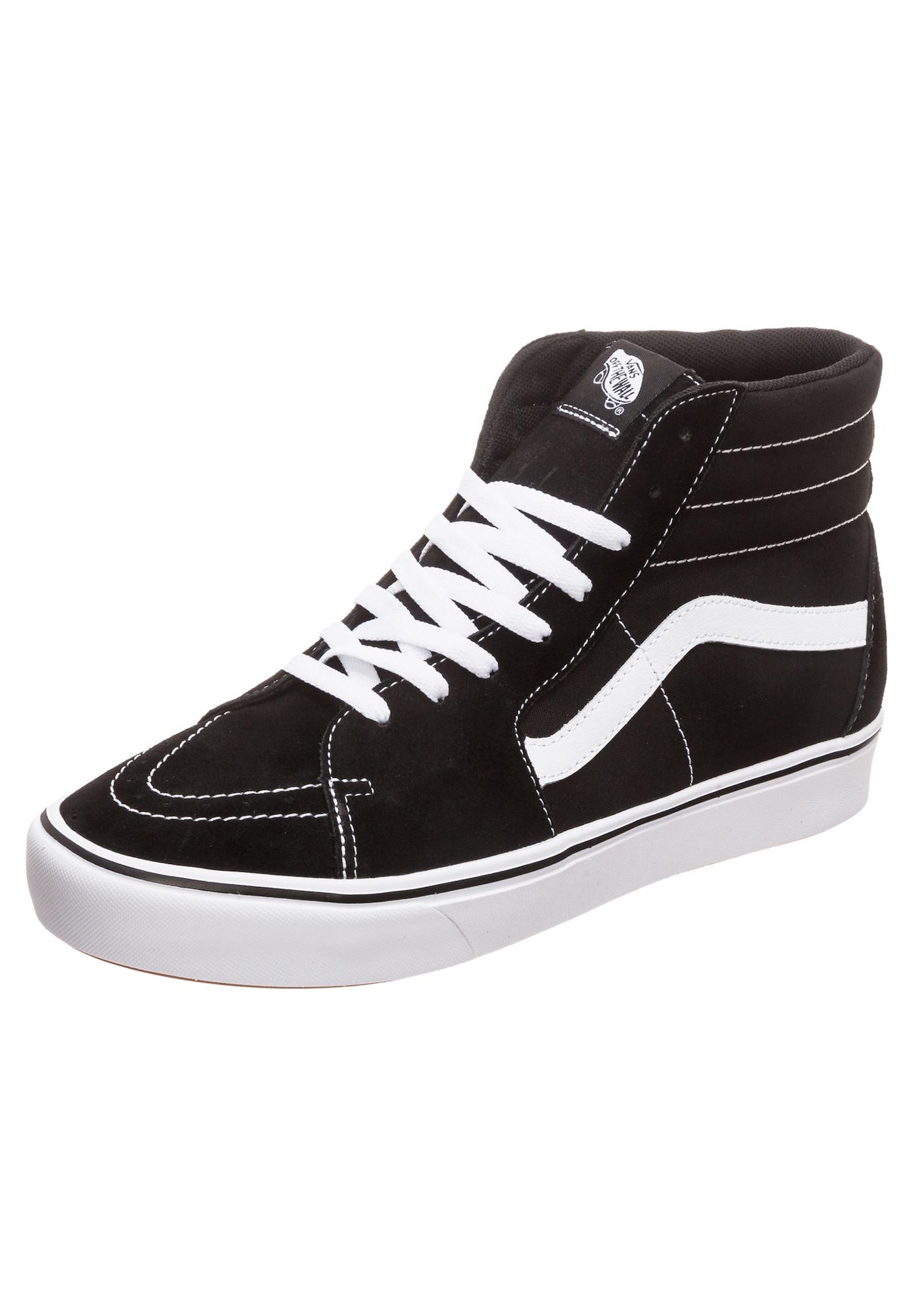 VANS, Heren Sneakers hoog 'Sk8-Hi ComfyCush', zwart / wit