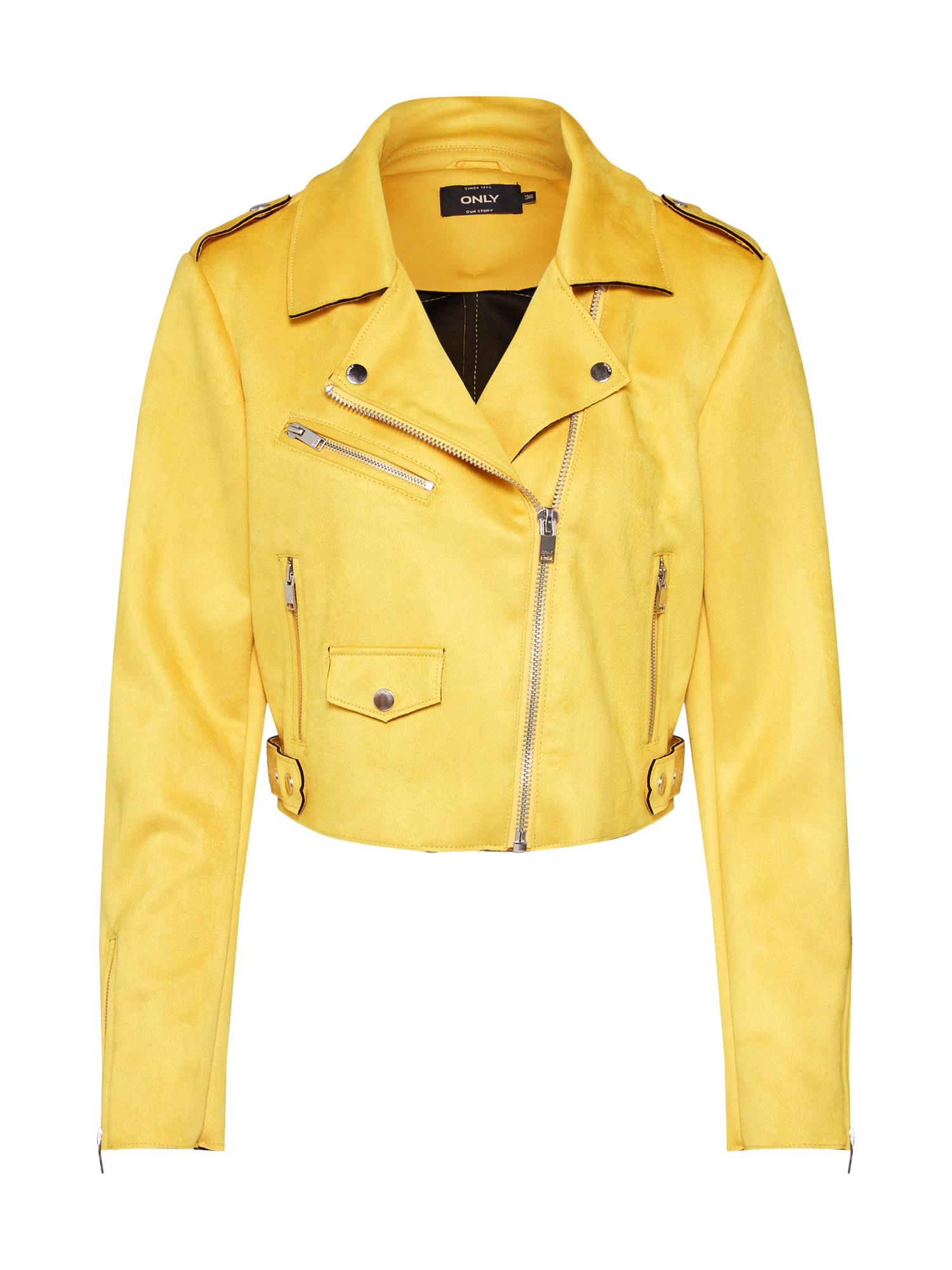 Přechodná bunda SHERRY žlutá ONLY