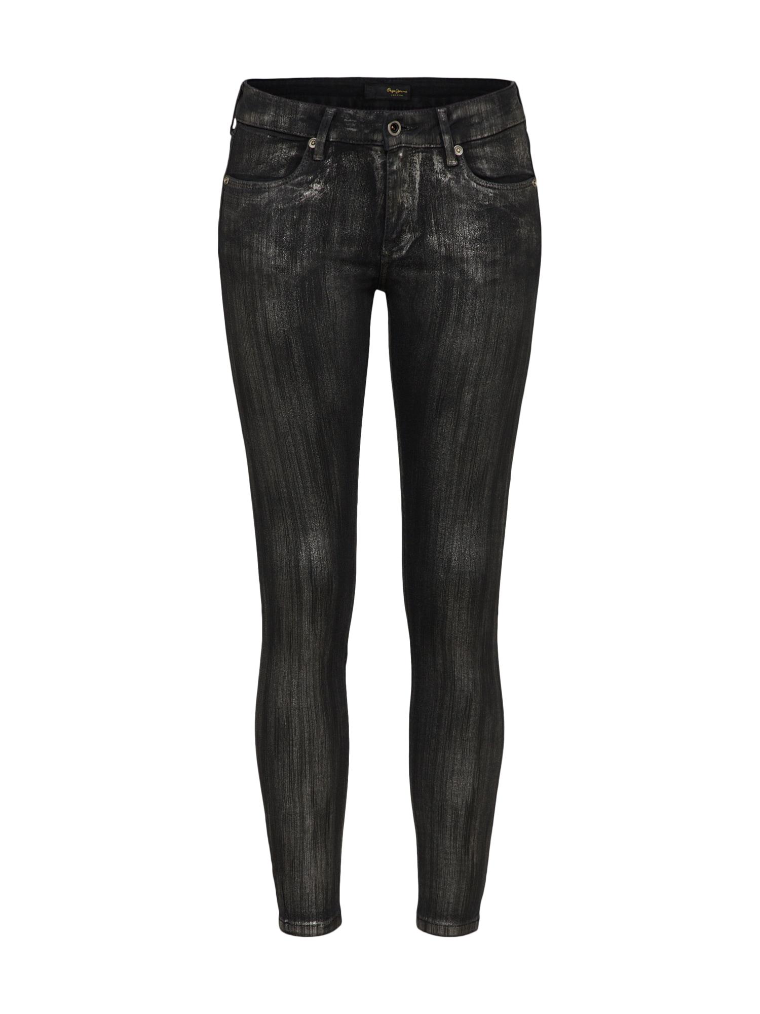 Kalhoty LOLA STEEL černá Pepe Jeans