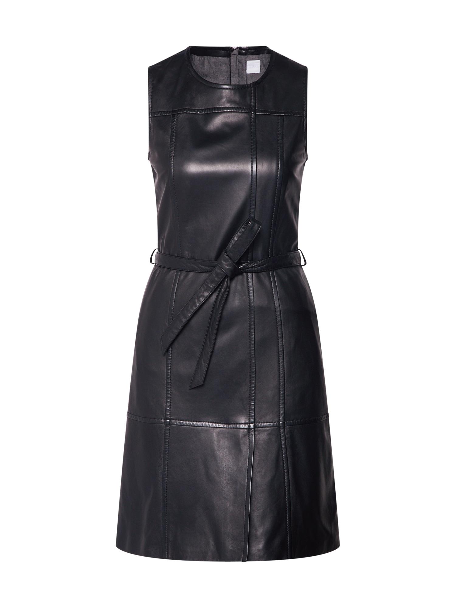 Šaty Jairy černá BOSS